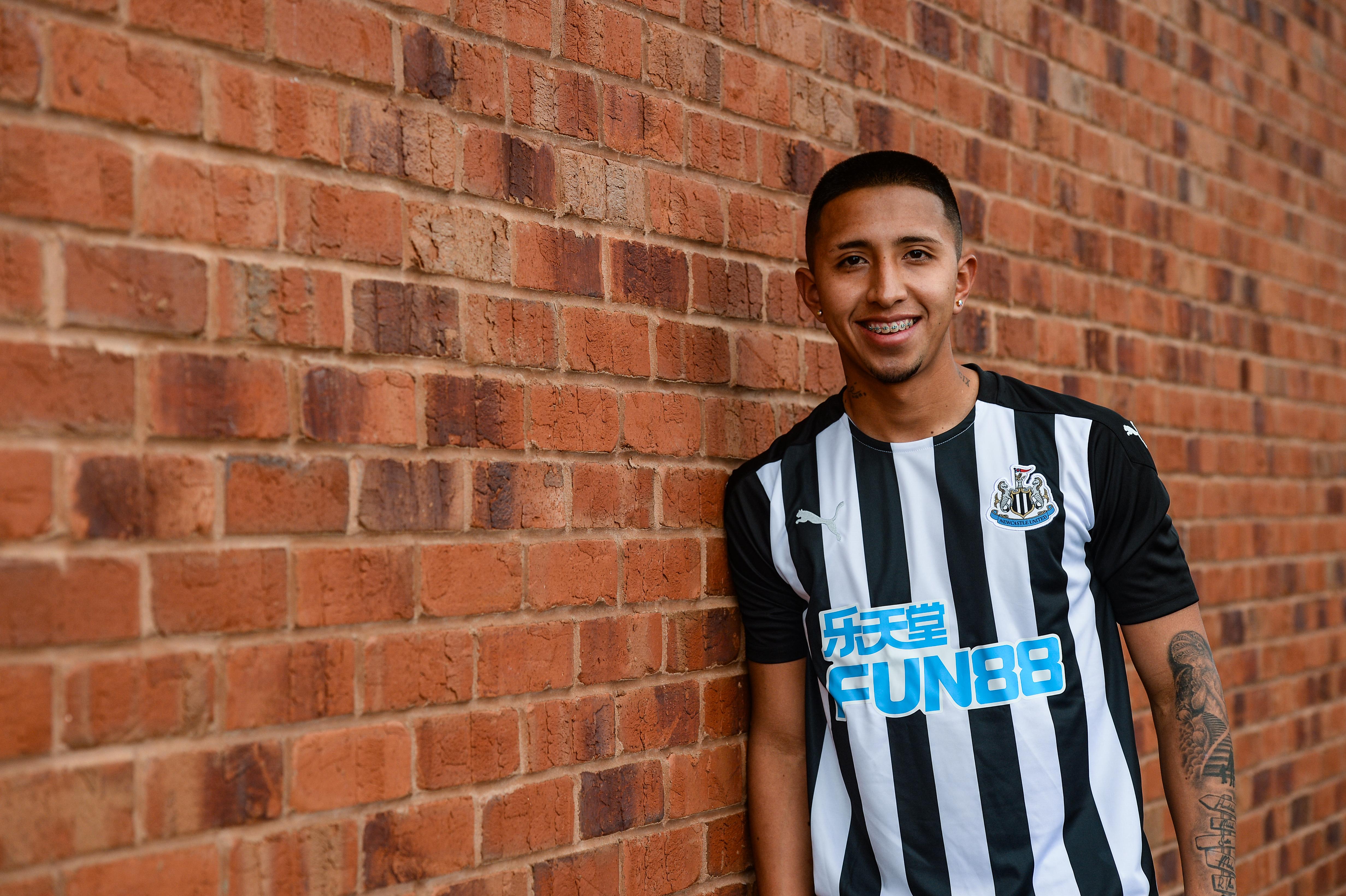 Newcastle United Unveil New Signing Rodrigo Vilca