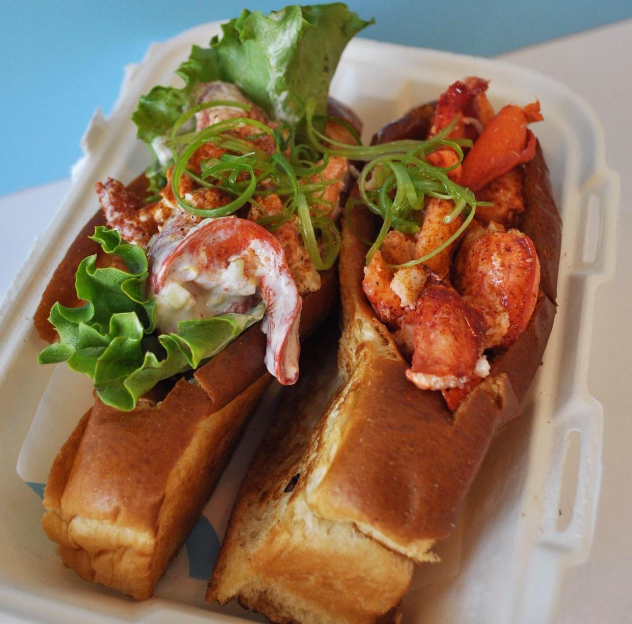 Lobster rolls from Garbo's