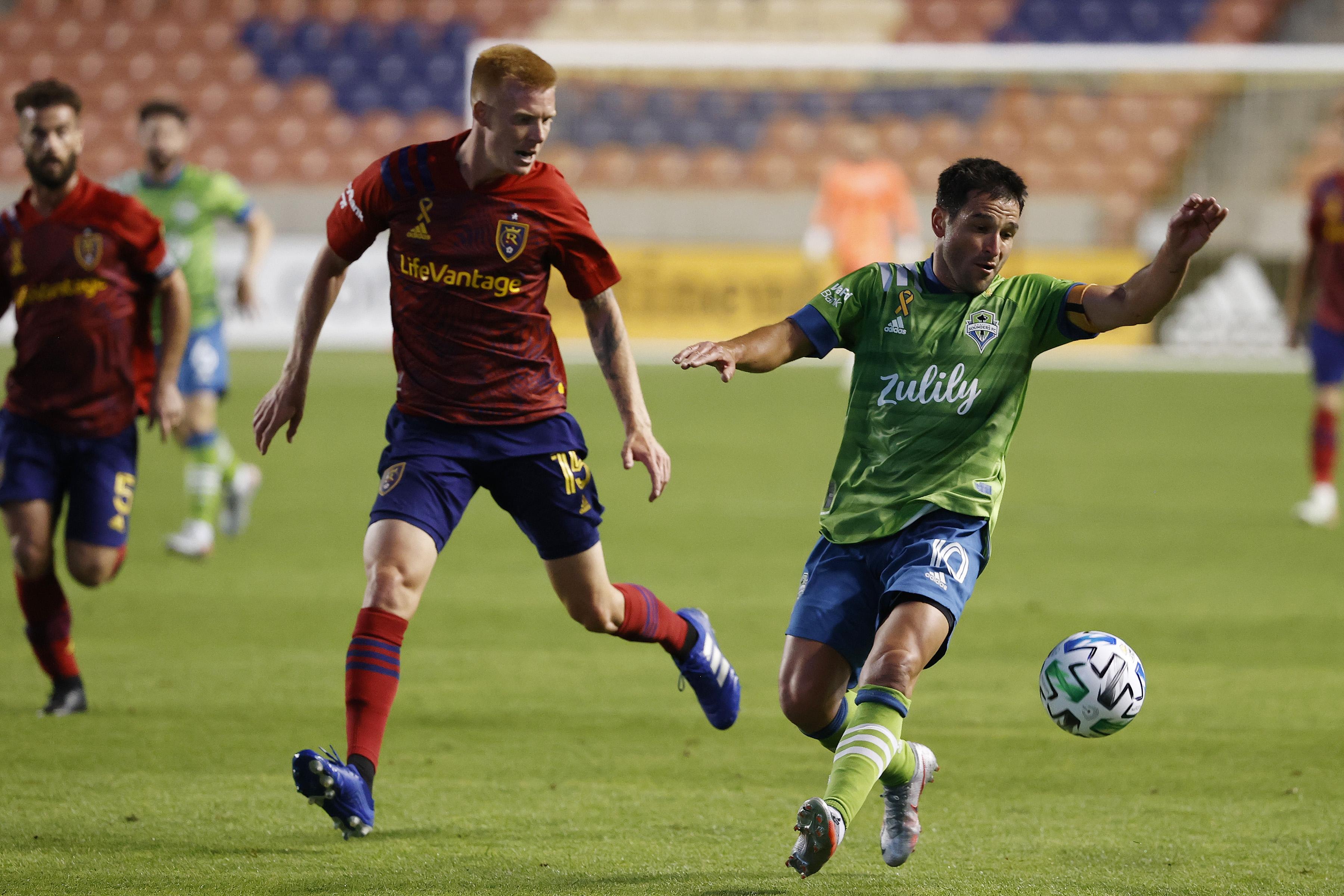 MLS: Seattle Sounders FC at Real Salt Lake