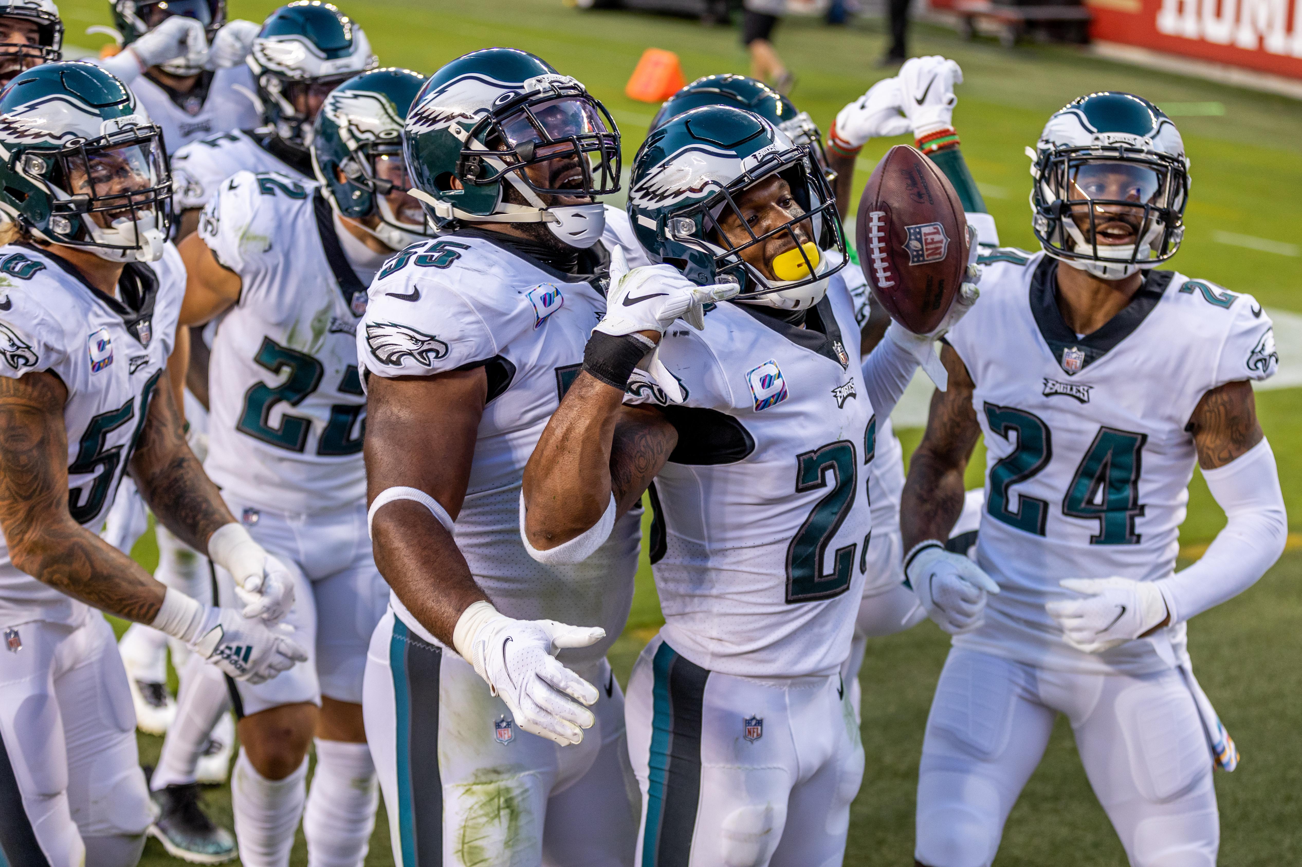 NFL: OCT 04 Eagles at 49ers