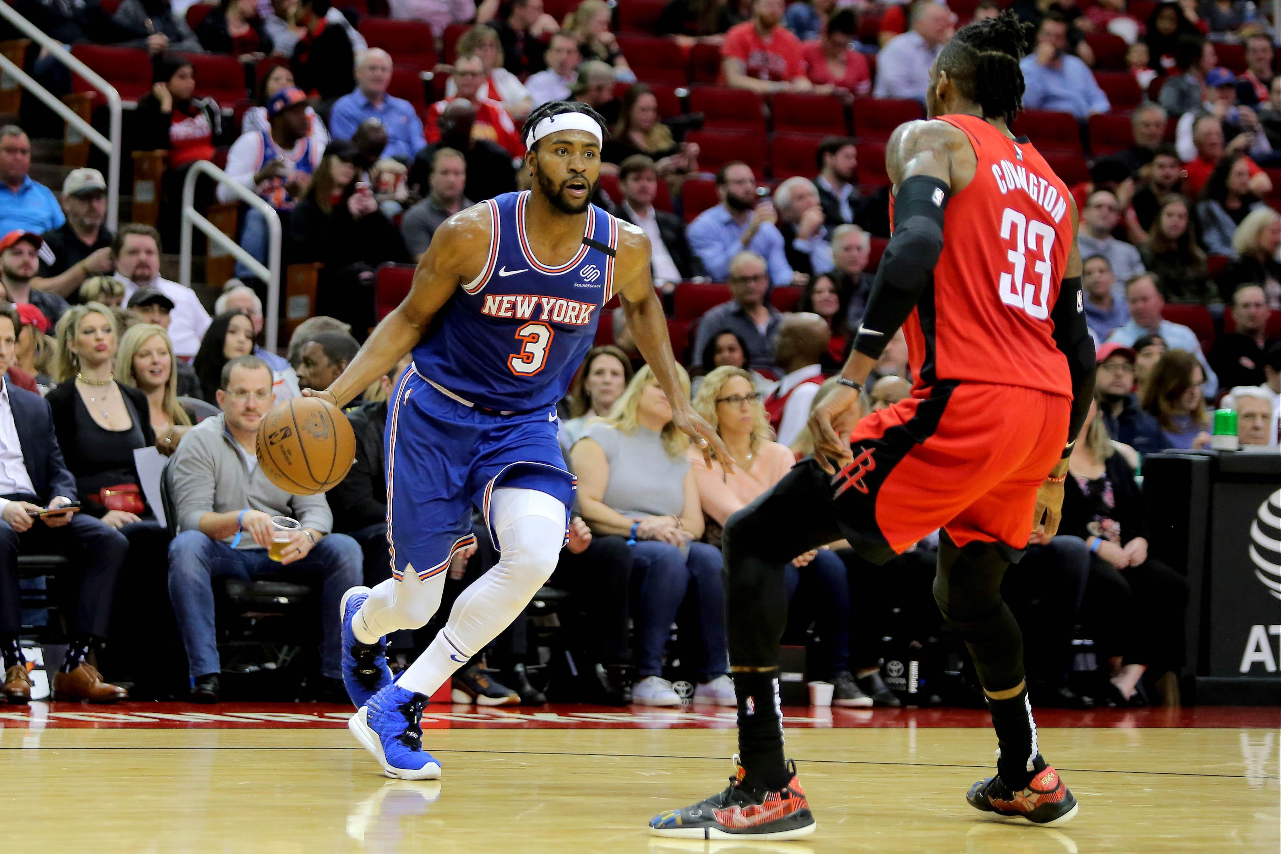 NBA: New York Knicks at Houston Rockets