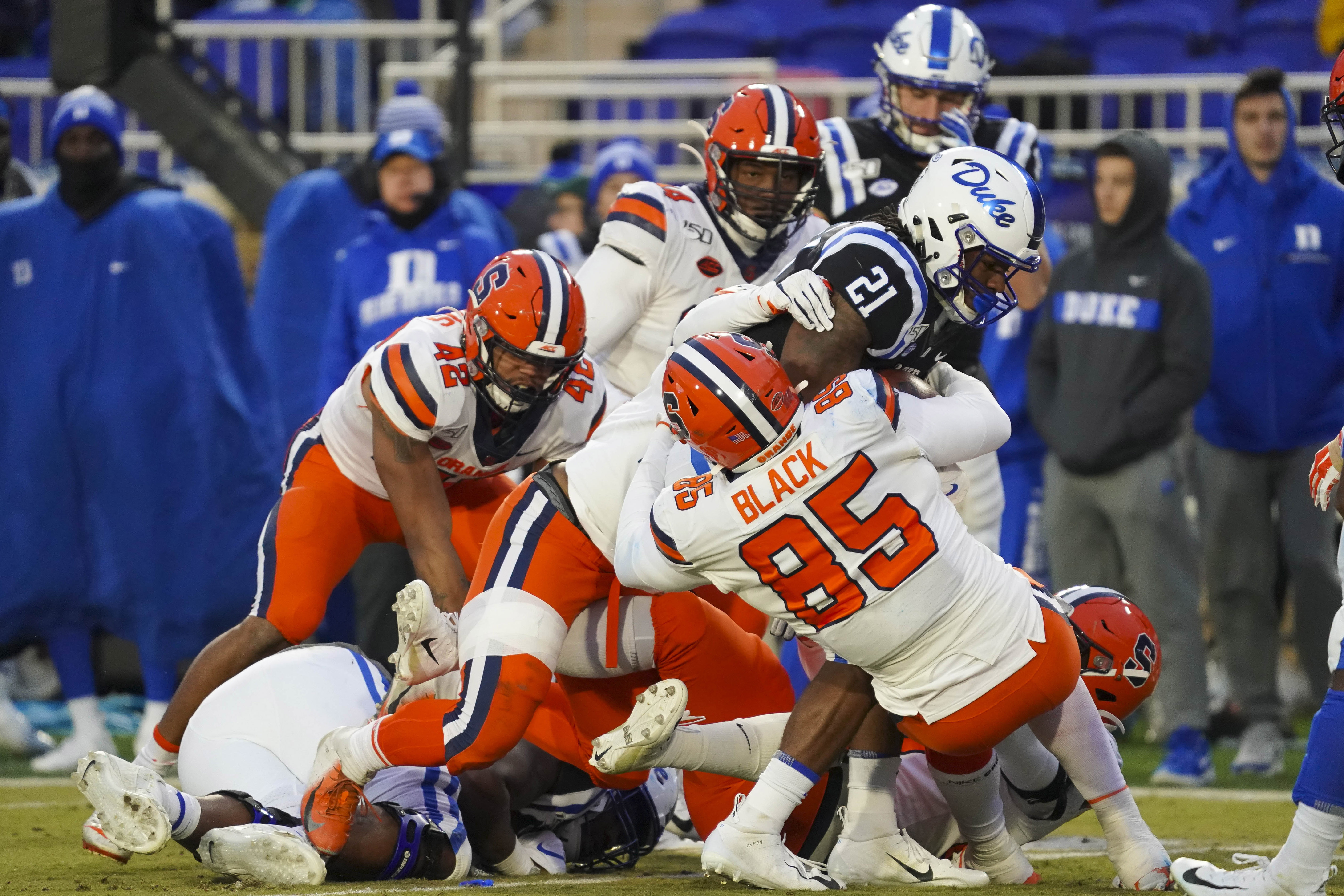 NCAA Football: Syracuse at Duke