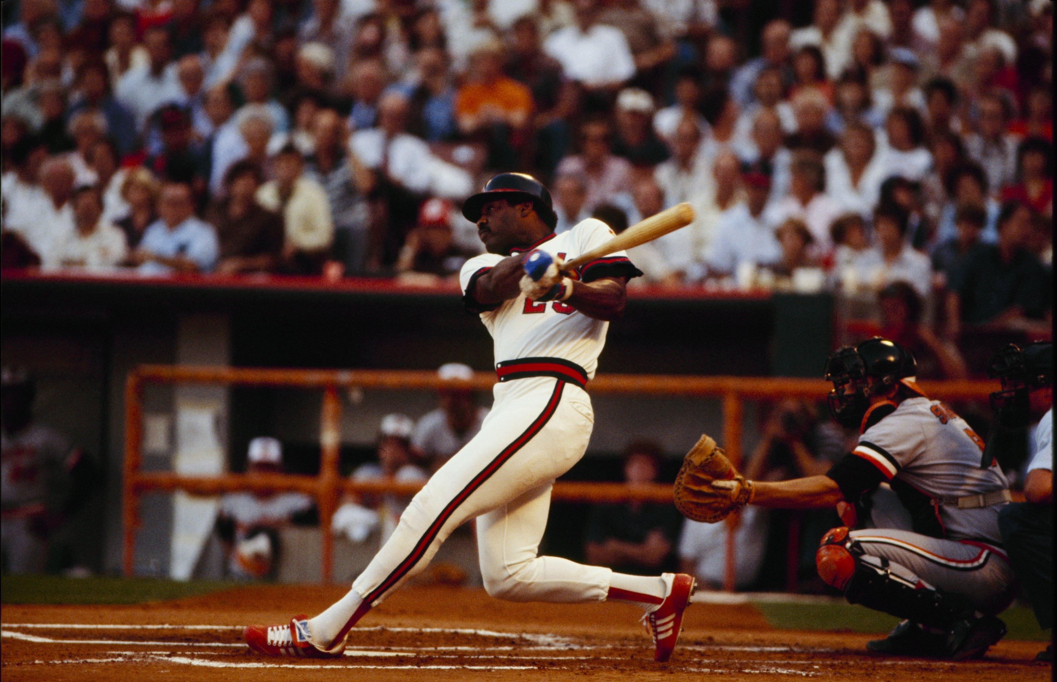 Baltimore Orioles v California Angels, Game 3