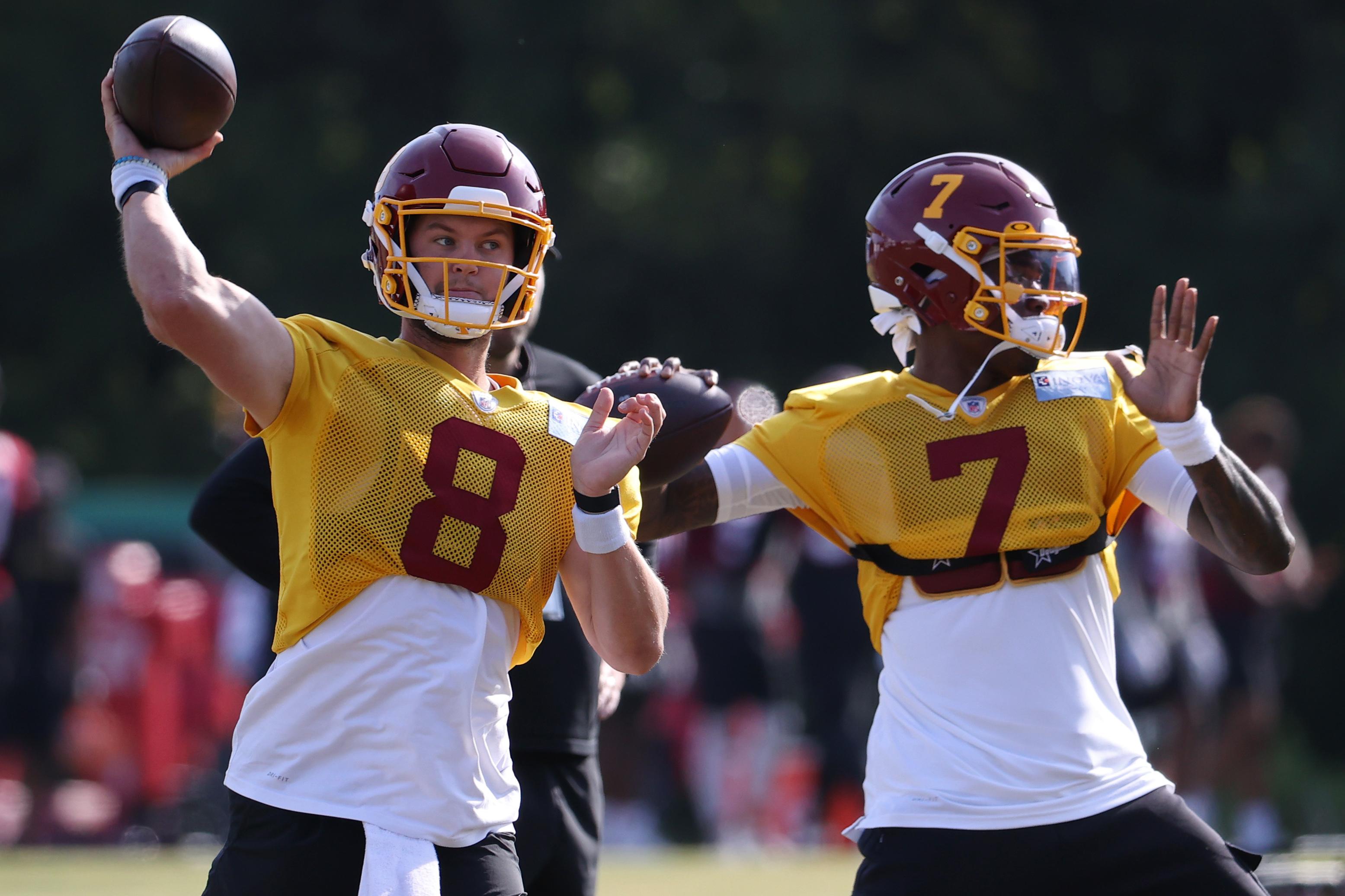 NFL: Washington Football Team-Training Camp