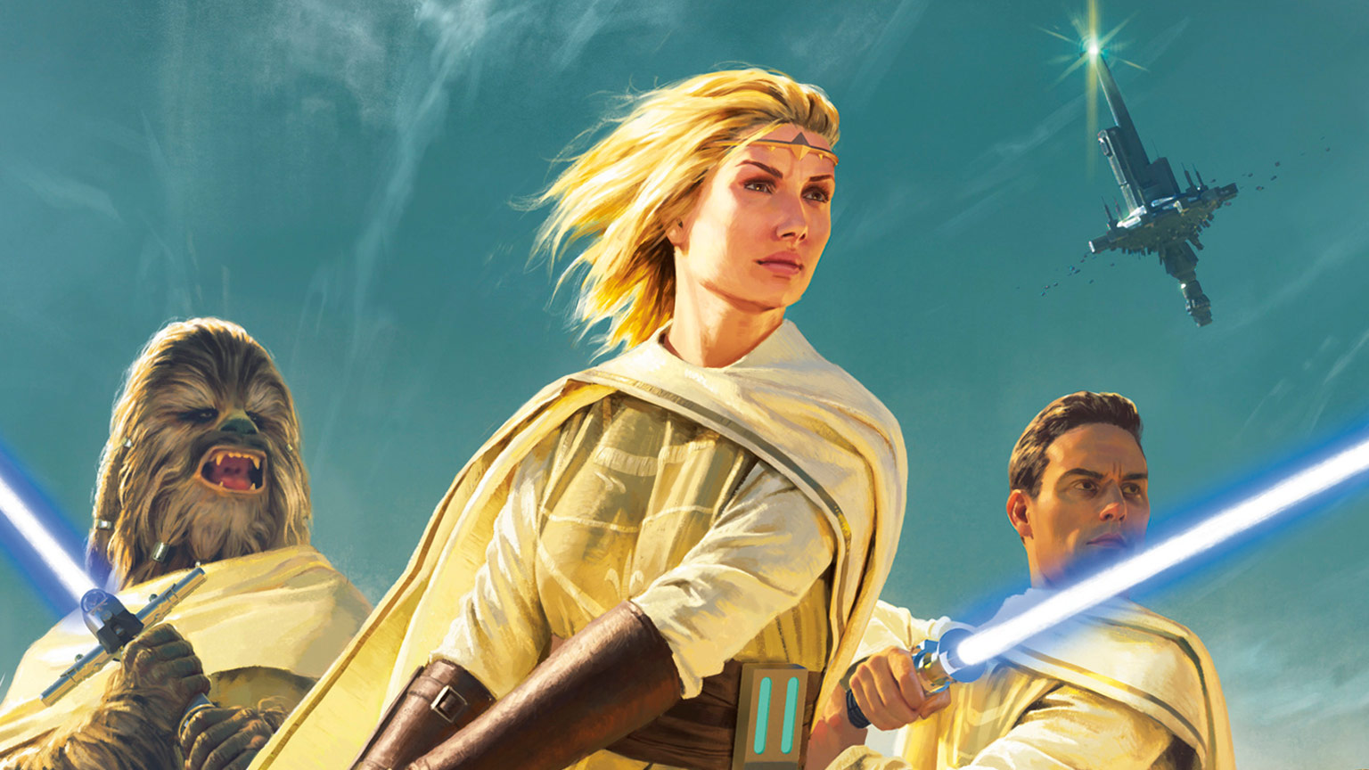 Cover art from Star Wars: Light of the Jedi: The High Republic