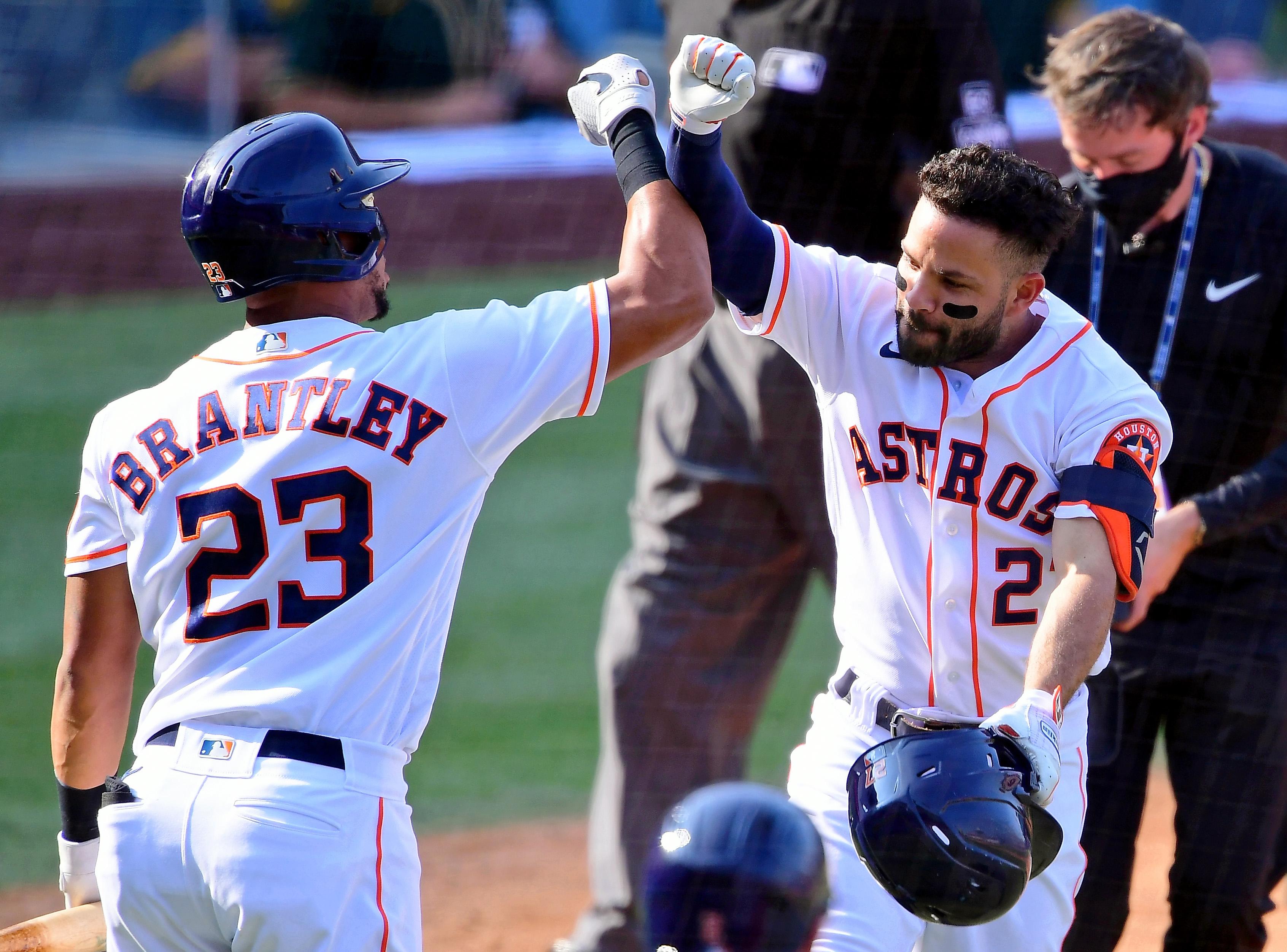 MLB: ALDS-Oakland Athletics at Houston Astros