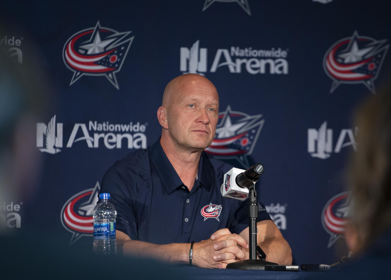 NHL: SEP 11 Blue Jackets Media Day