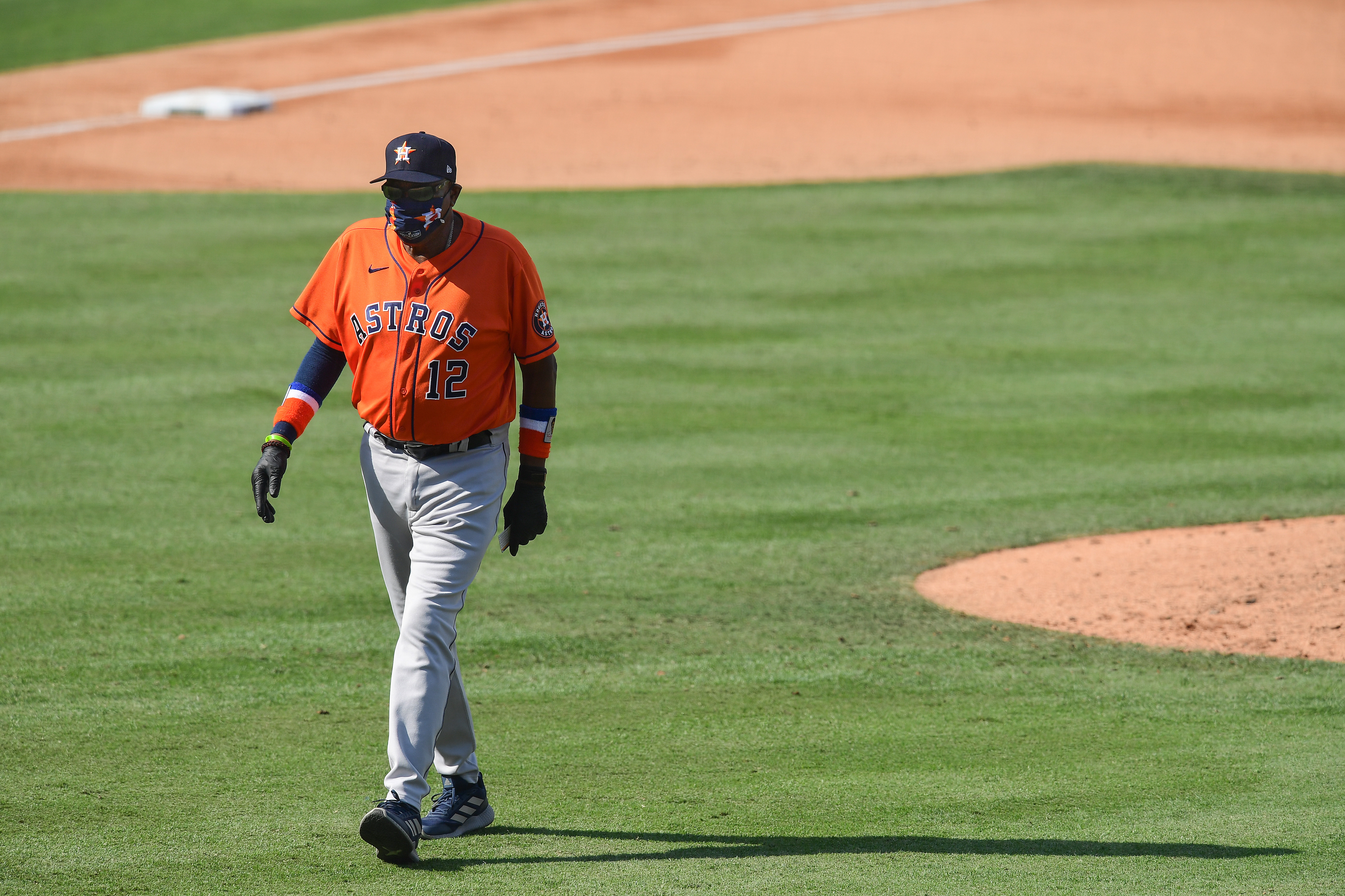 Division Series - Houston Astros v Oakland Athletics - Game One