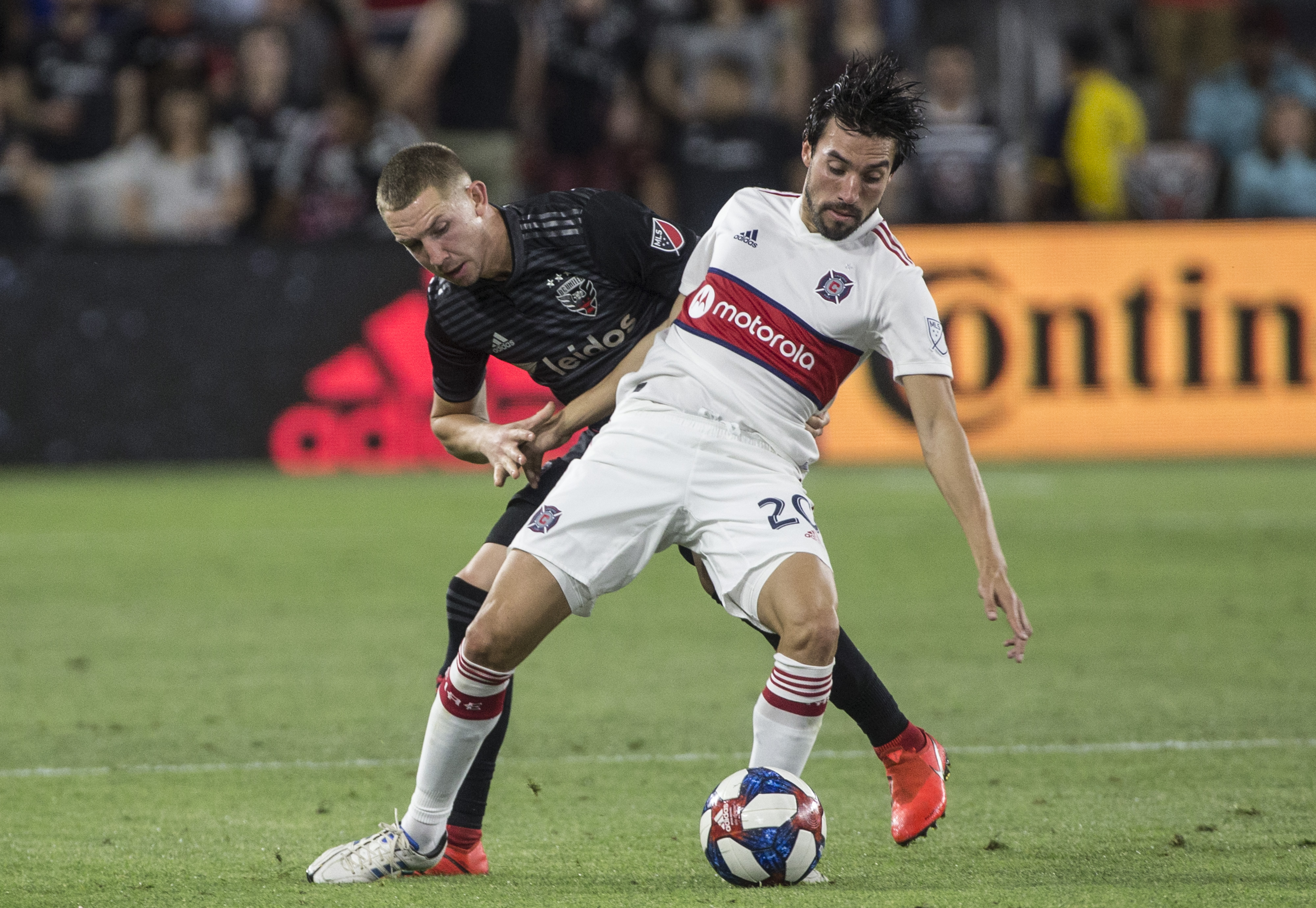 SOCCER: MAY 29 MLS - Chicago Fire at DC United