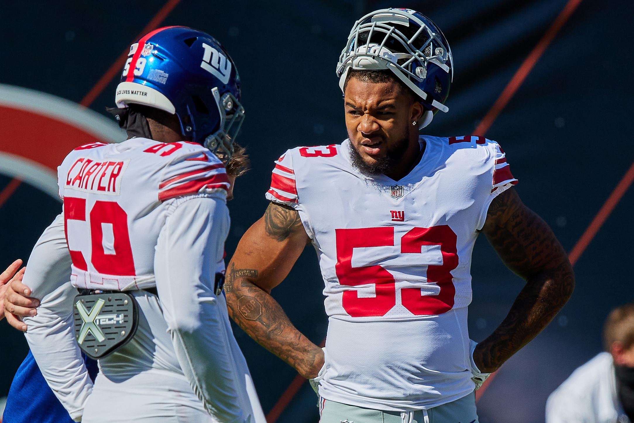 NFL: SEP 20 Giants at Bears