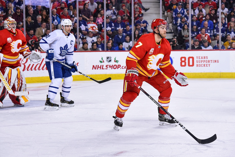 NHL: DEC 12 Maple Leafs at Flames