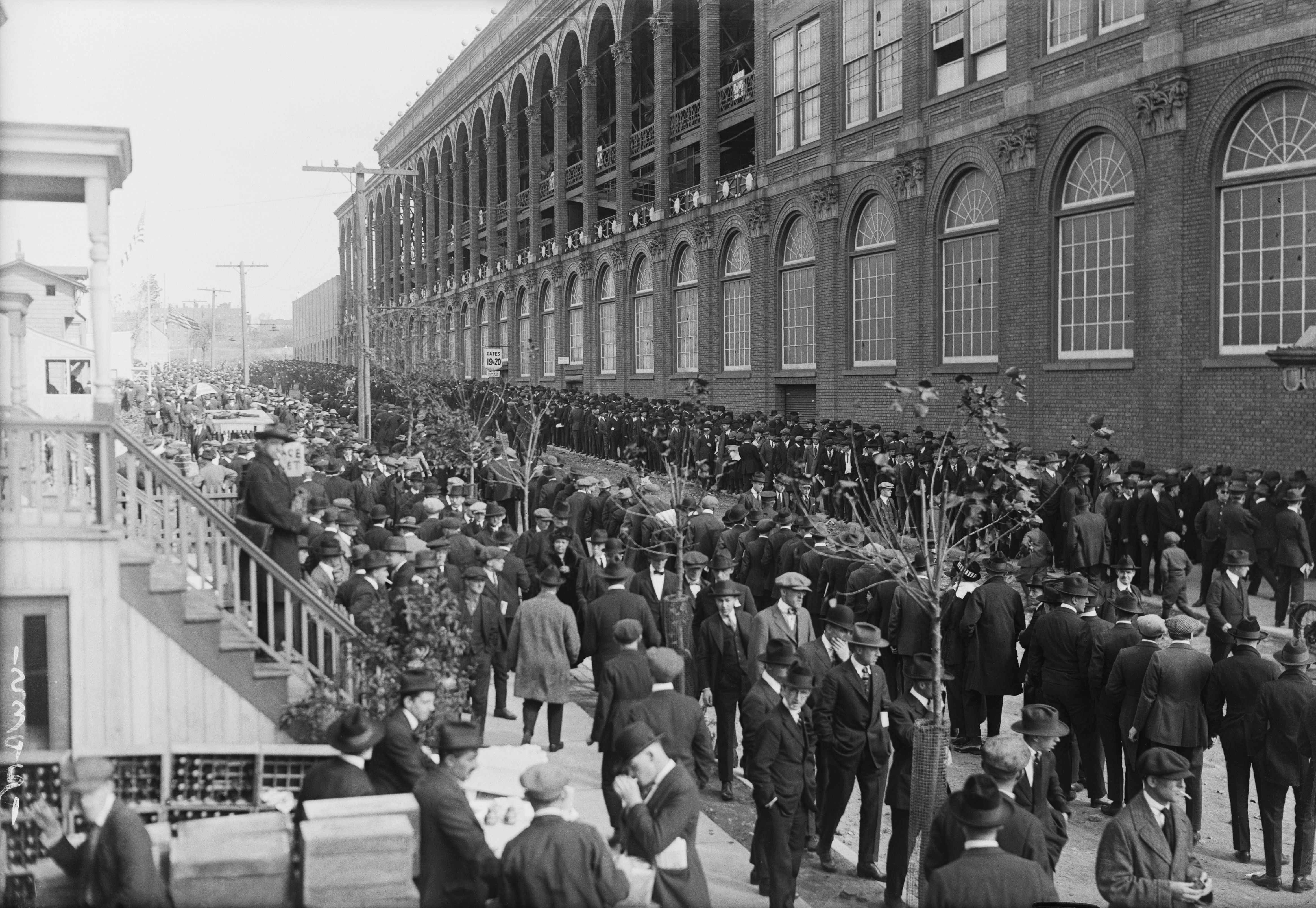 View of Fans for World Series Game