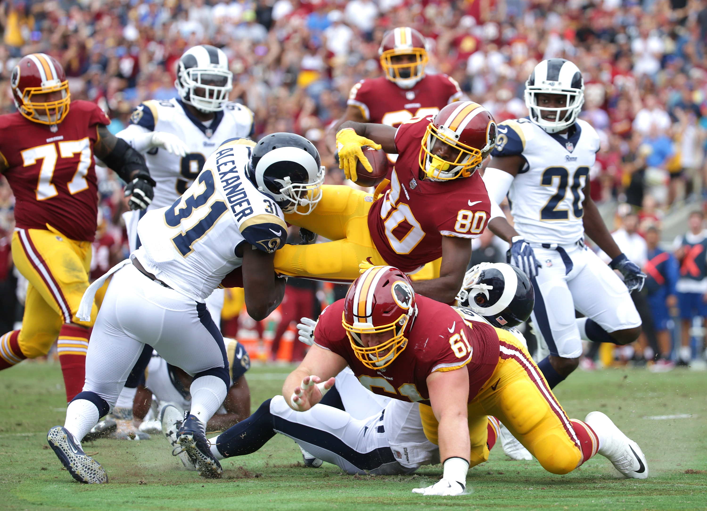 Washington Redskins vs Los Angeles Rams