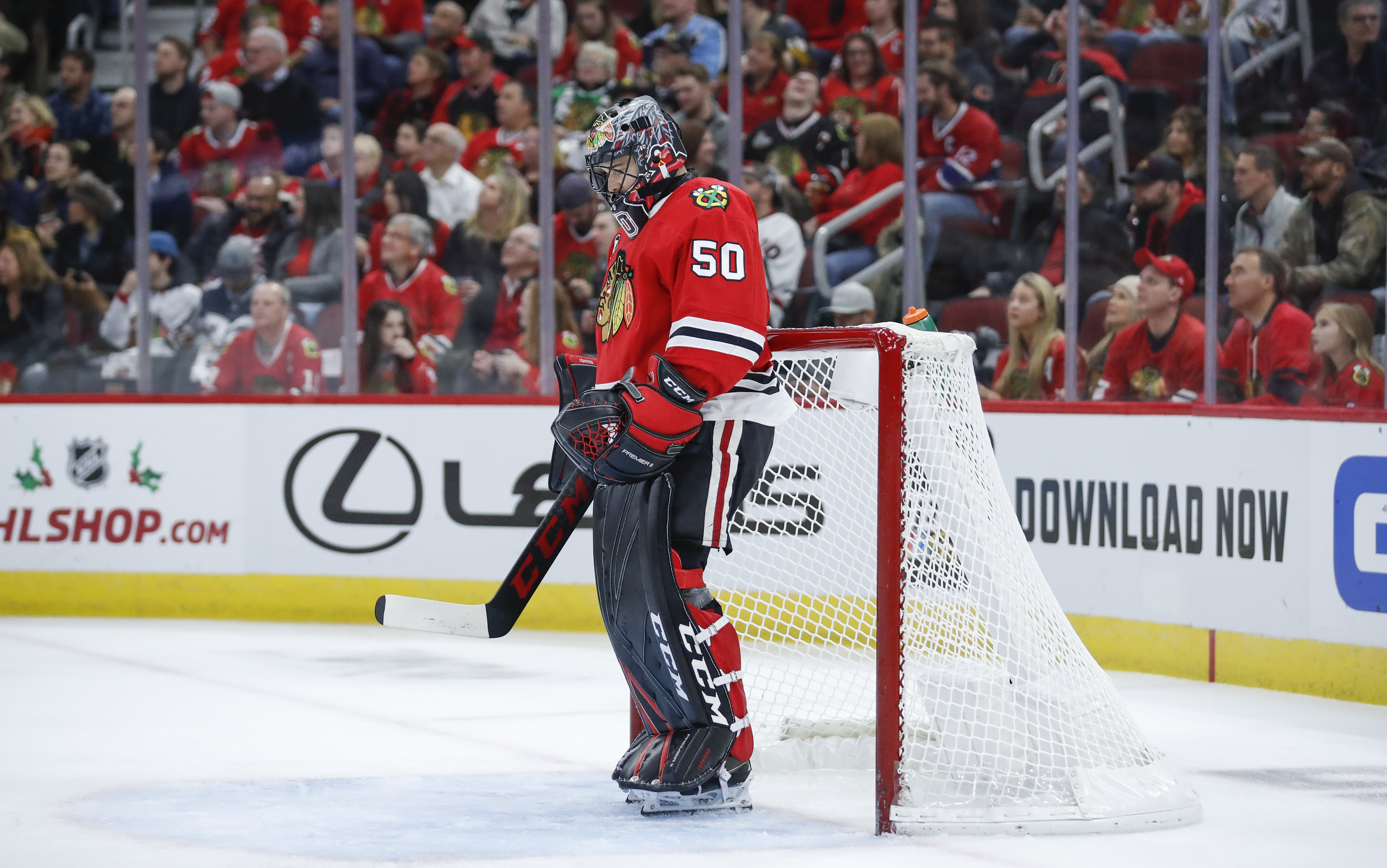 Corey Crawford finds himself with the Devils after an eventful 2020.