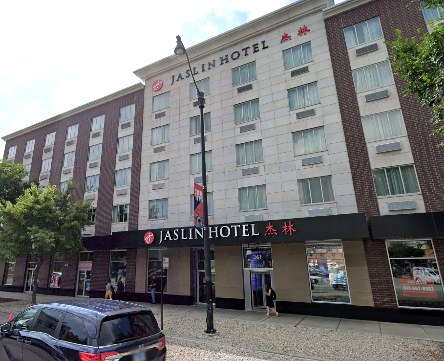Police are investigating the deaths of two people found at the Jaslin Hotel in the 200 block of West Cermak Road.