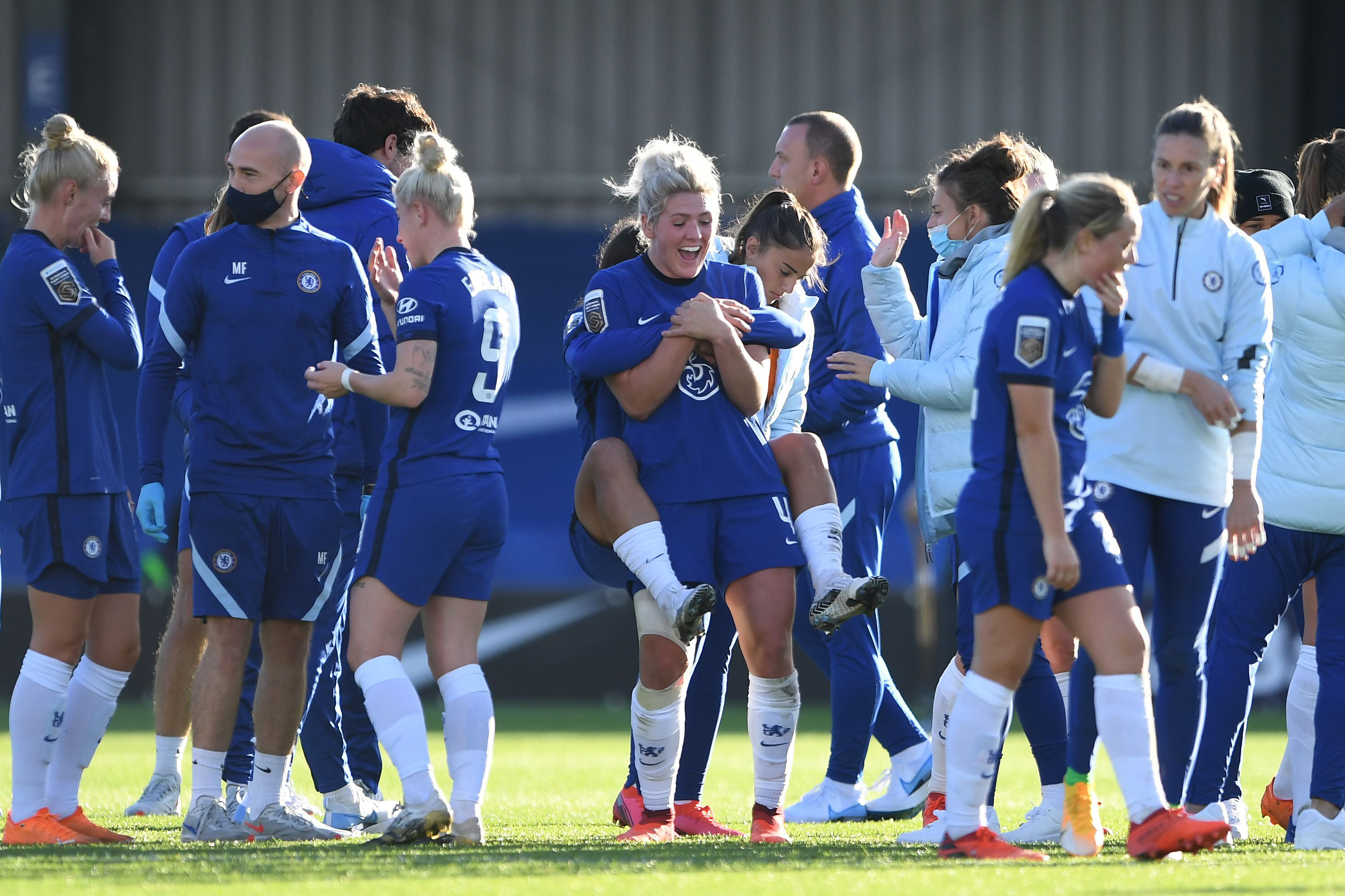 Chelsea Women v Manchester City Women - Barclays FA Women's Super League