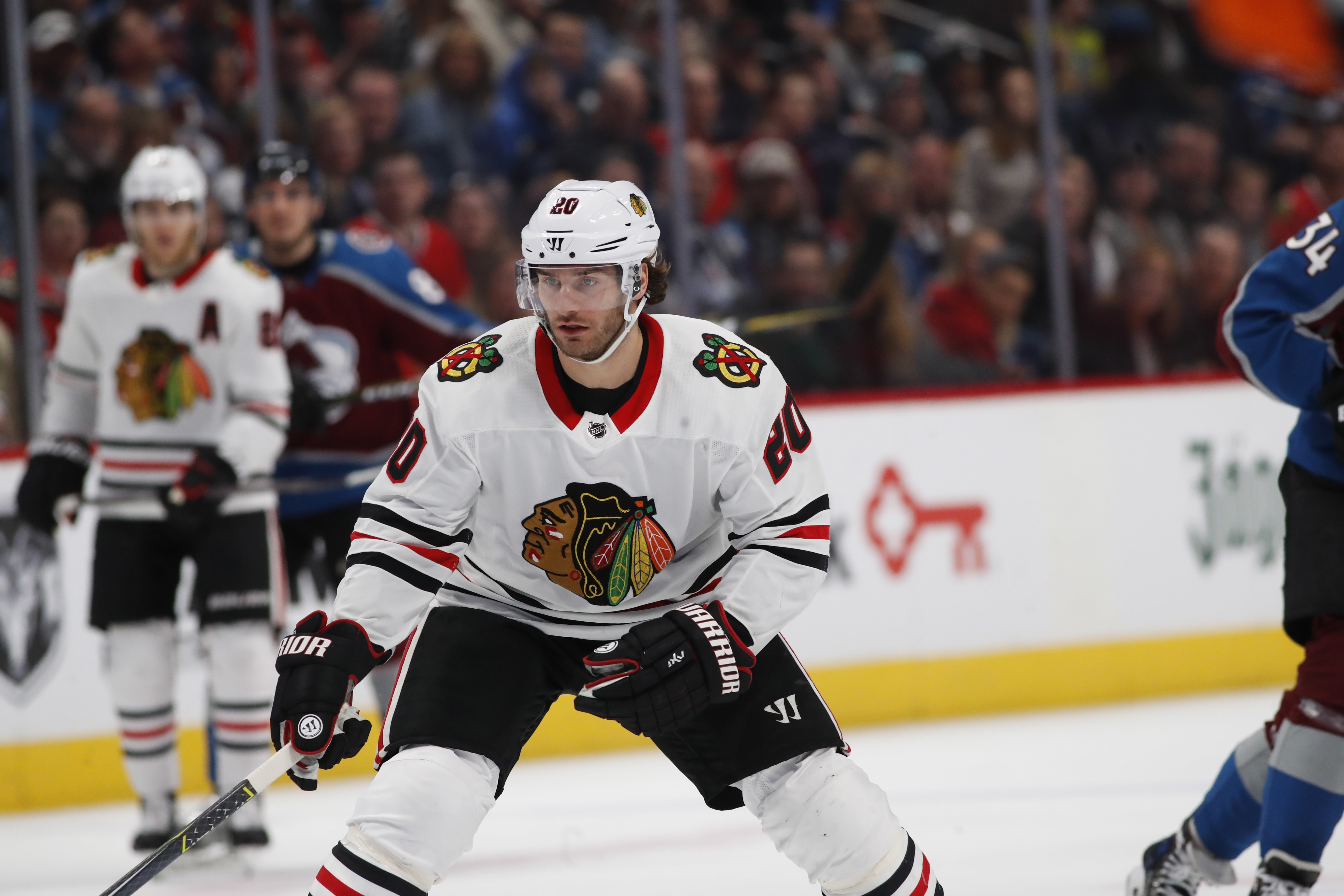 Brandon Saad said he wasn't overly surprised to see his trade to Colorado go down Saturday.