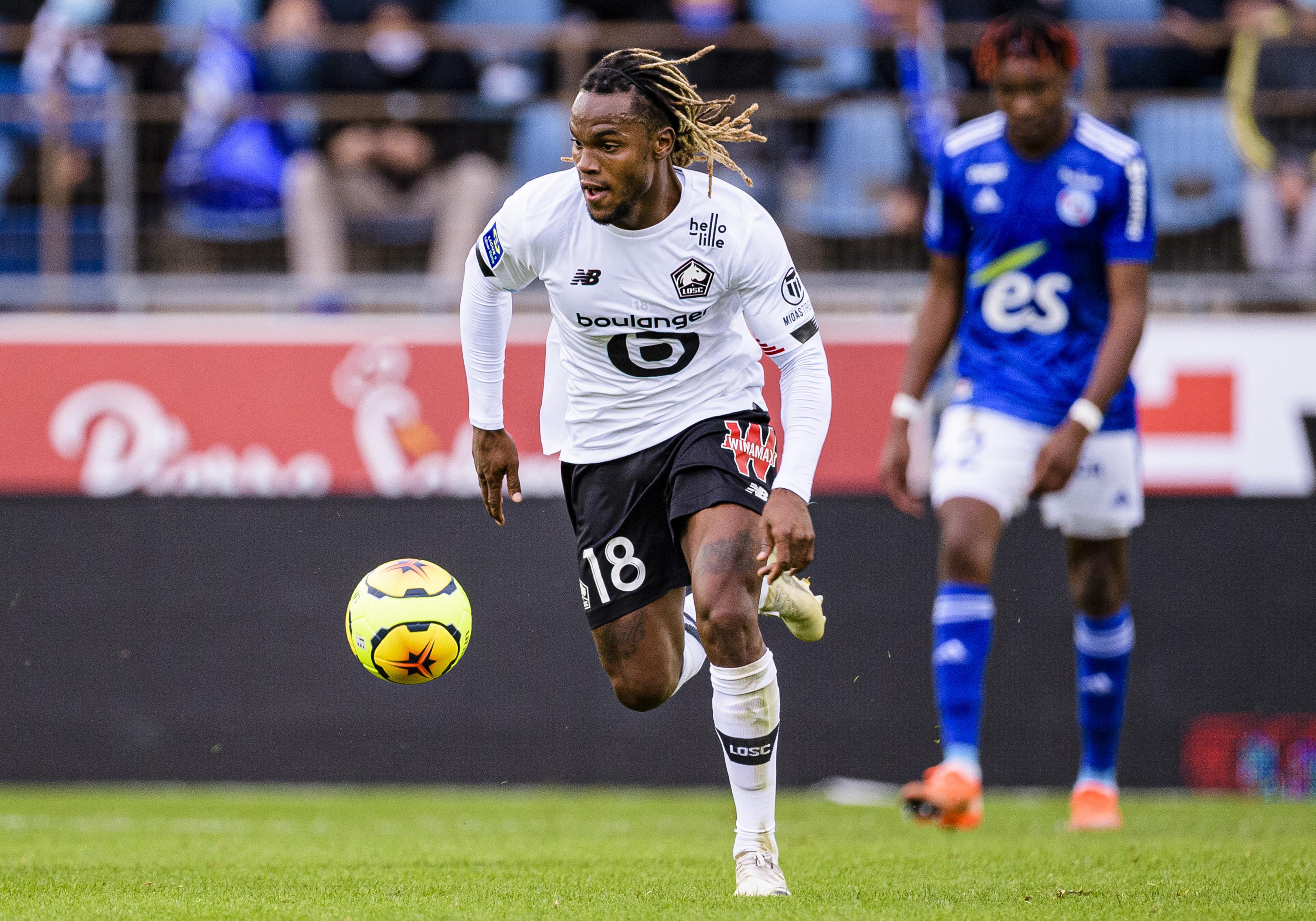 RC Strasbourg v Lille OSC - Ligue 1