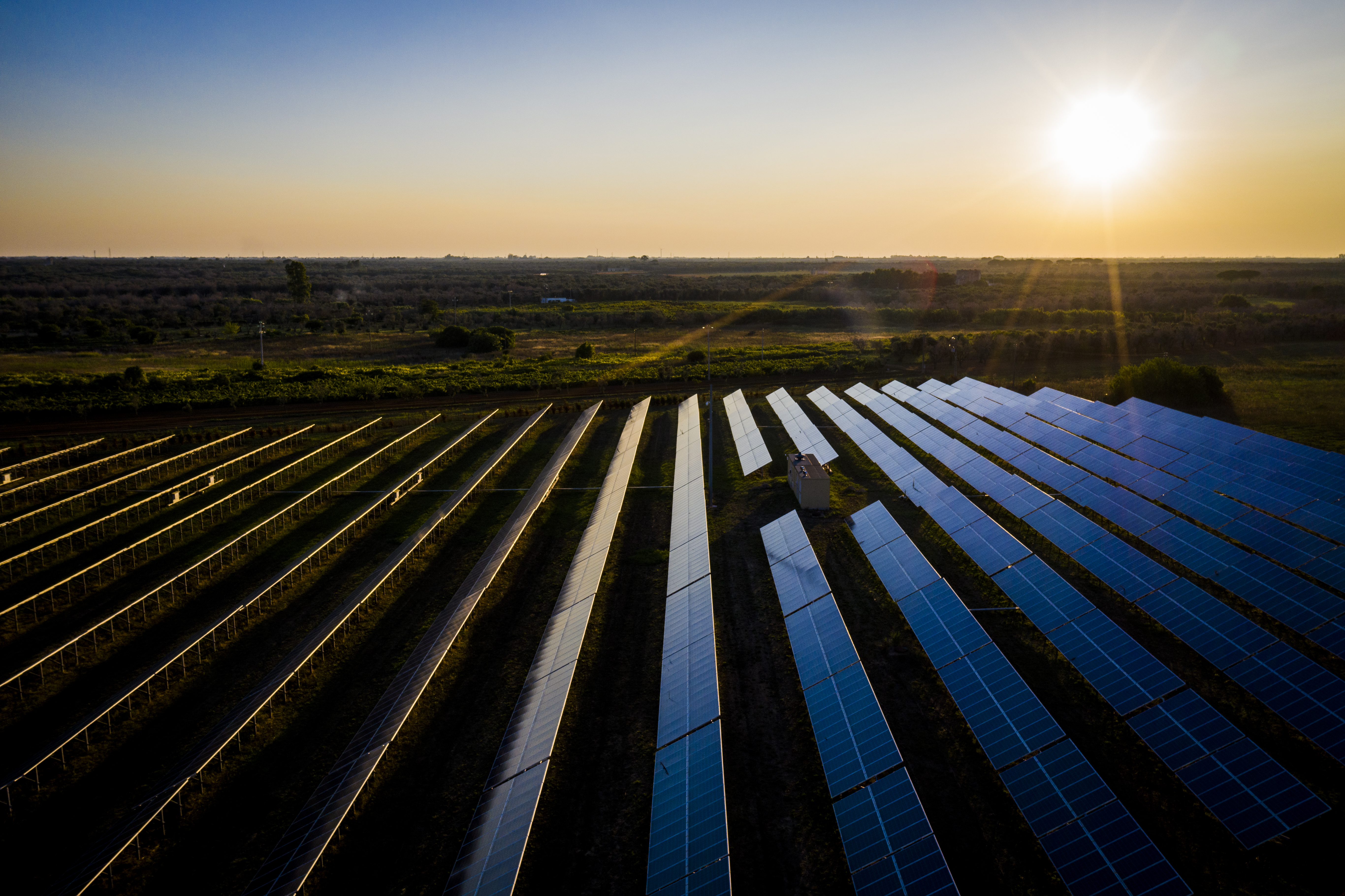 Solar Farm In Salento
