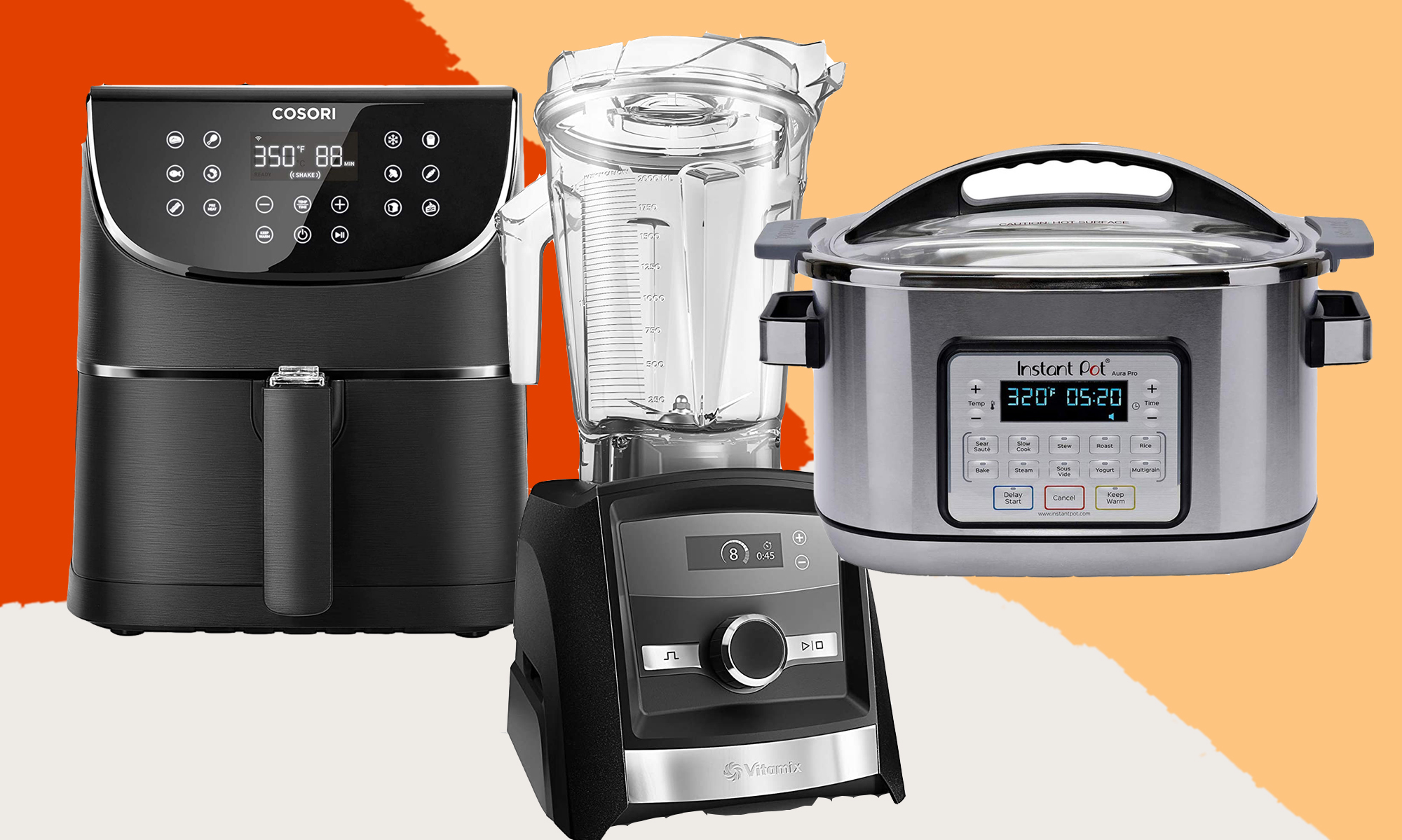An air fryer, blender, or instant pot