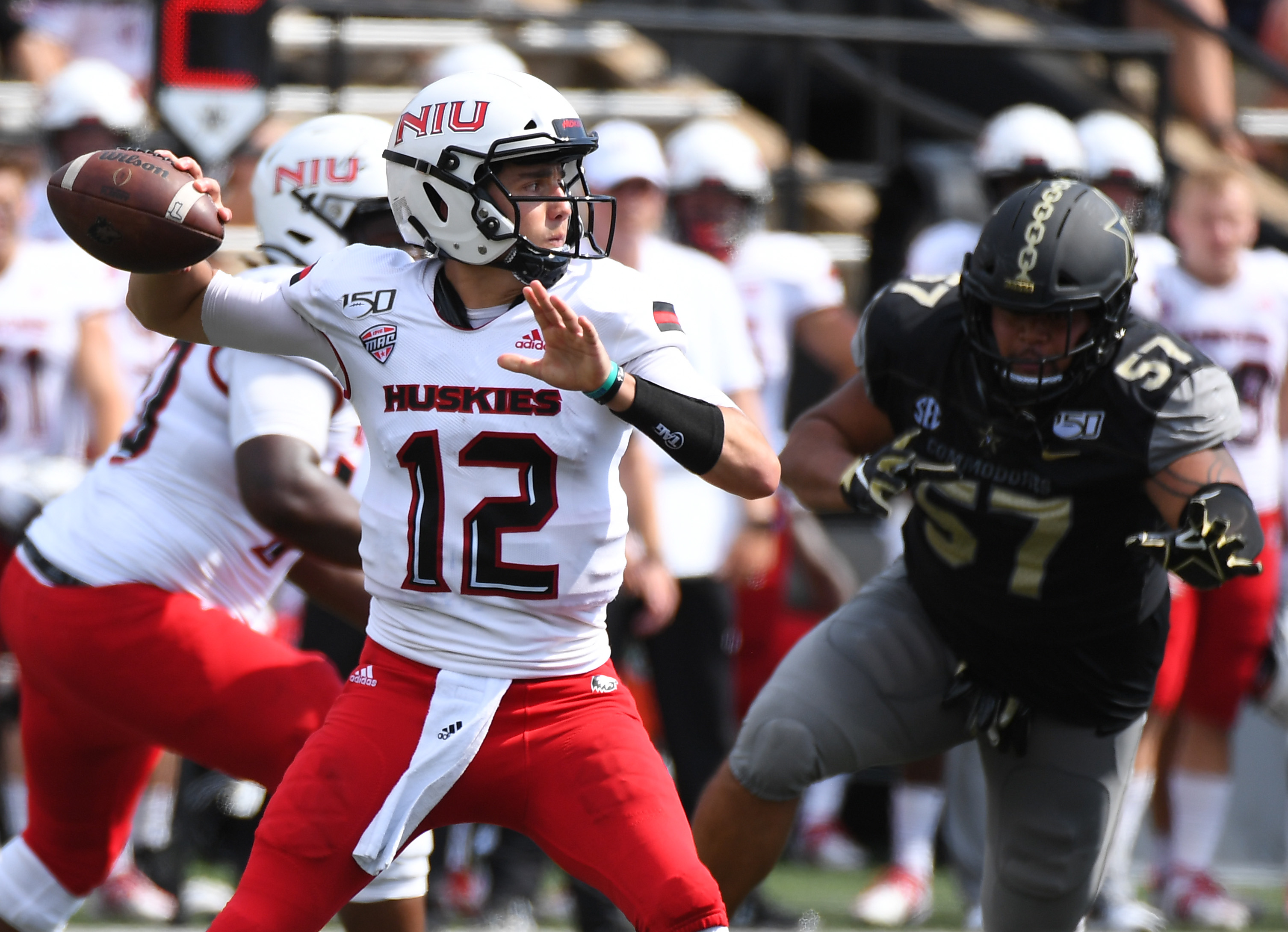 NCAA Football: Northern Illinois at Vanderbilt