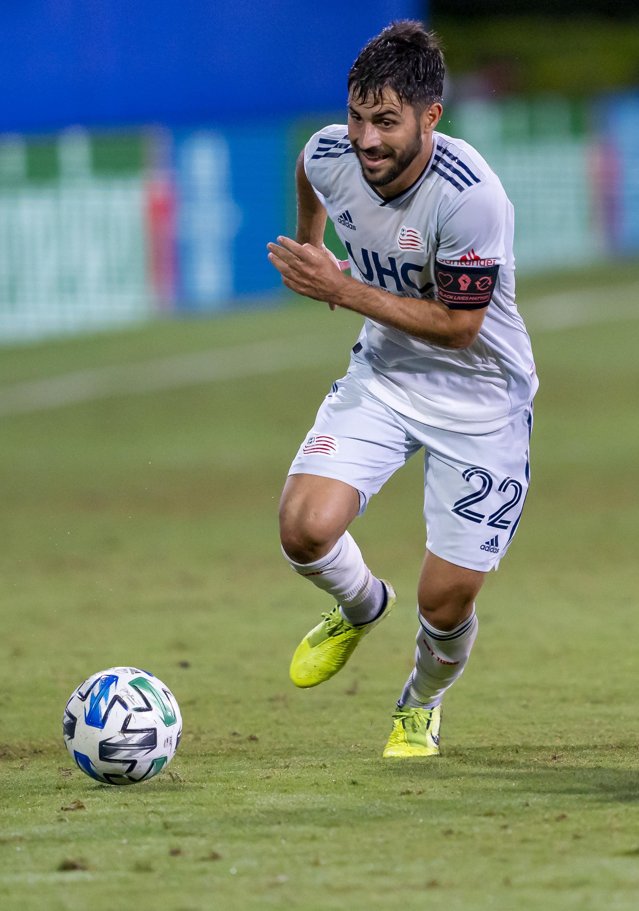 SOCCER: JUL 17 MLS - DC United v New England Revolution