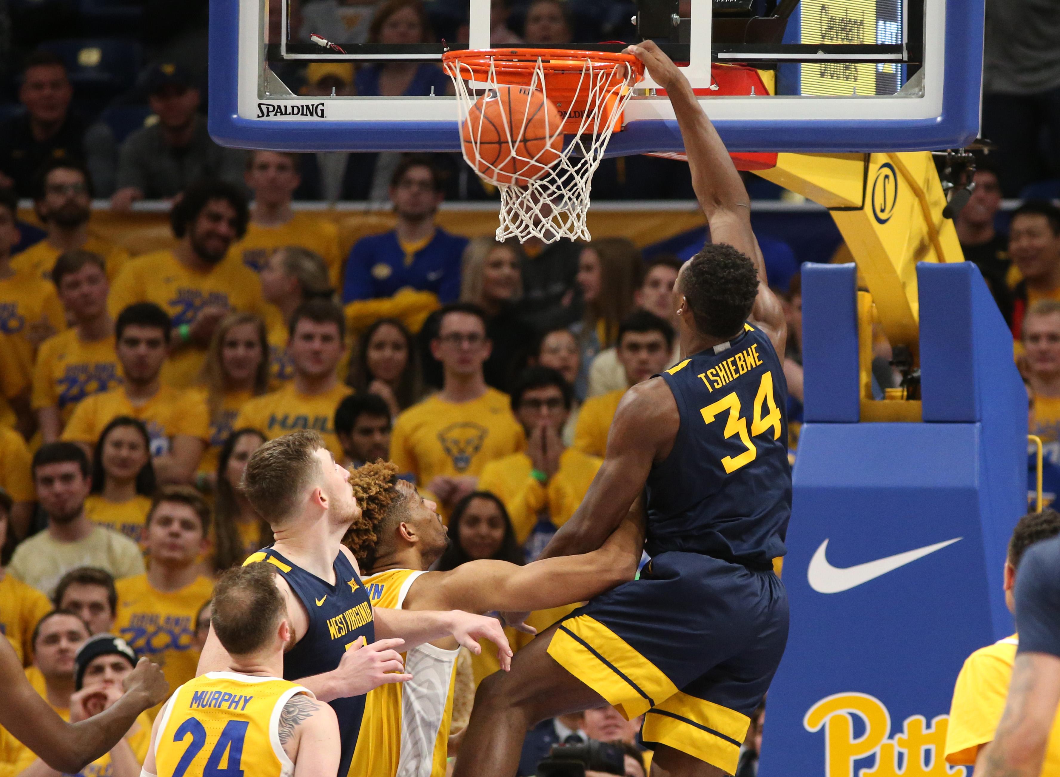 NCAA Basketball: West Virginia at Pittsburgh
