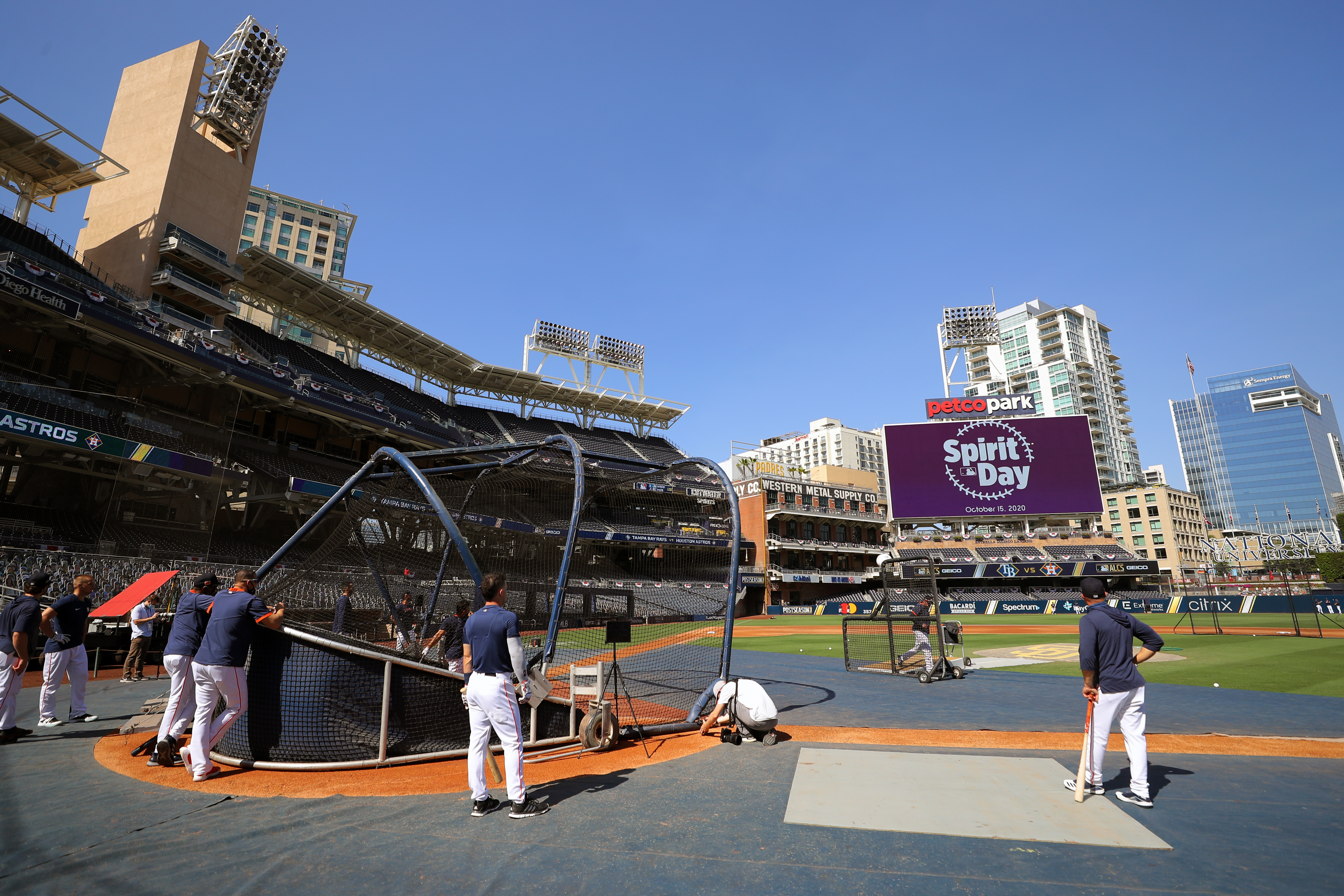 American League Championship Series Game 5: Tampa Bay Rays v. Houston Astros