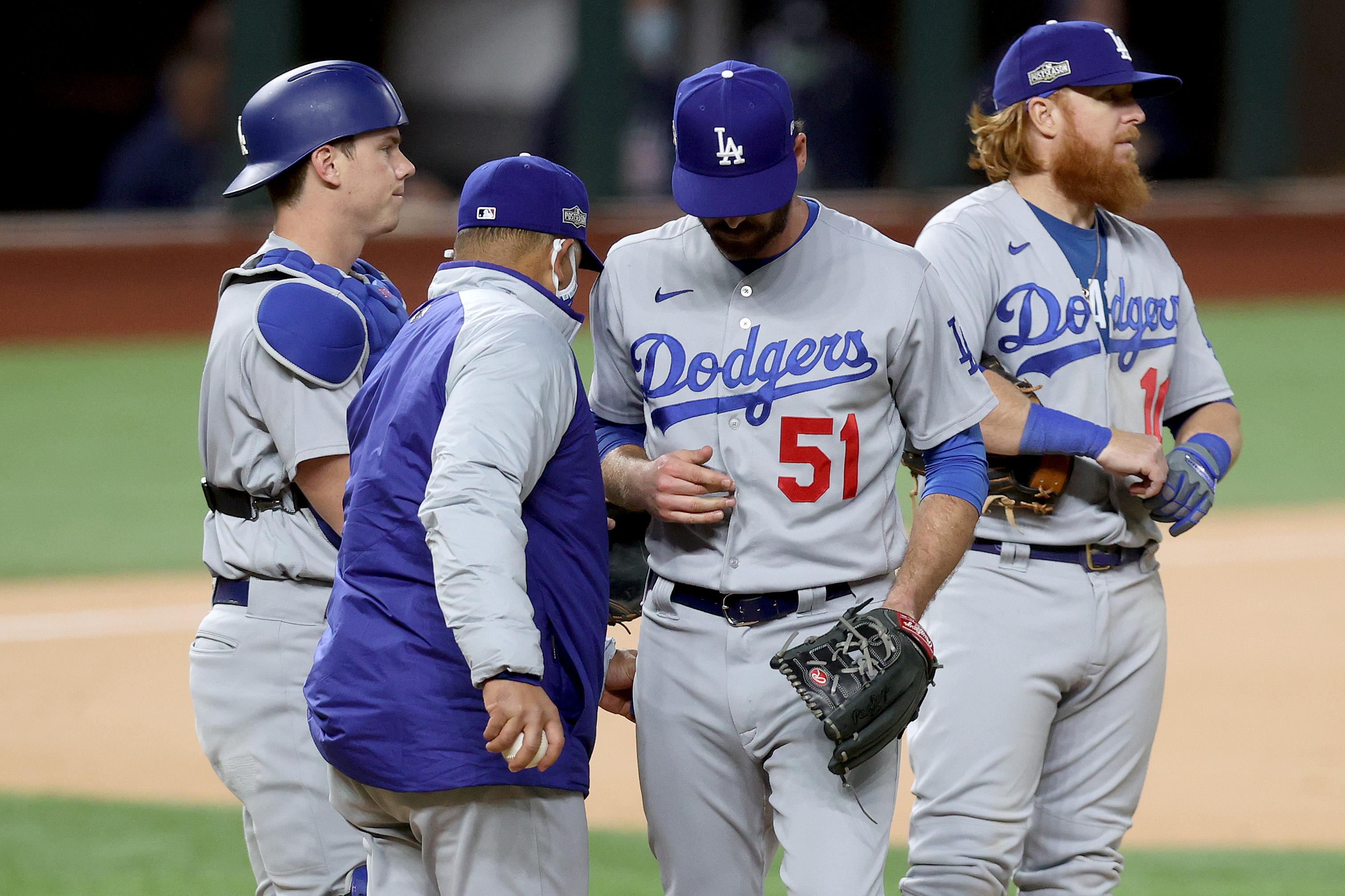 League Championship - Los Angeles Dodgers v Atlanta Braves - Game Four