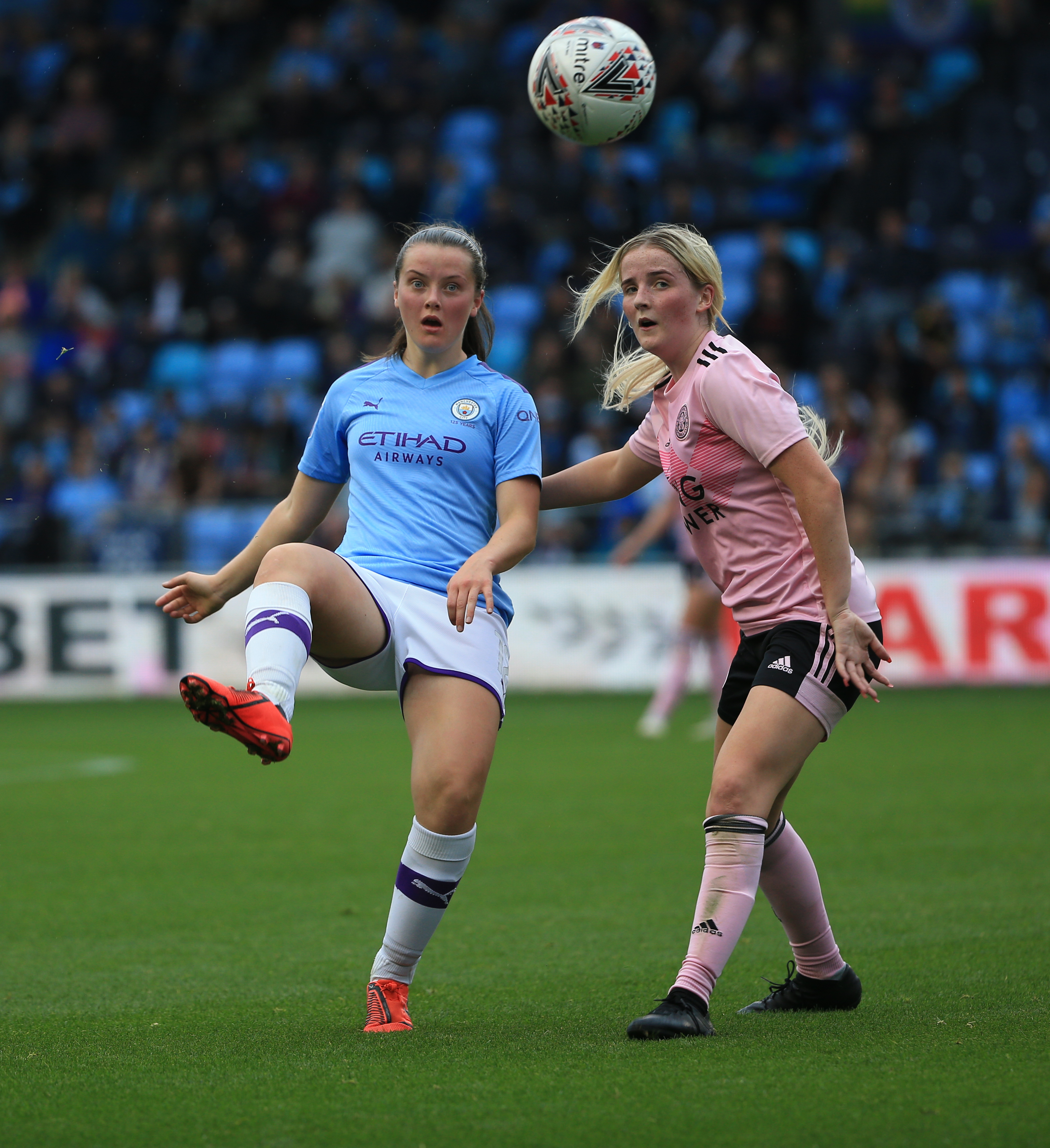 Manchester City Women v Leicester City Women - The FA Continental League Cup