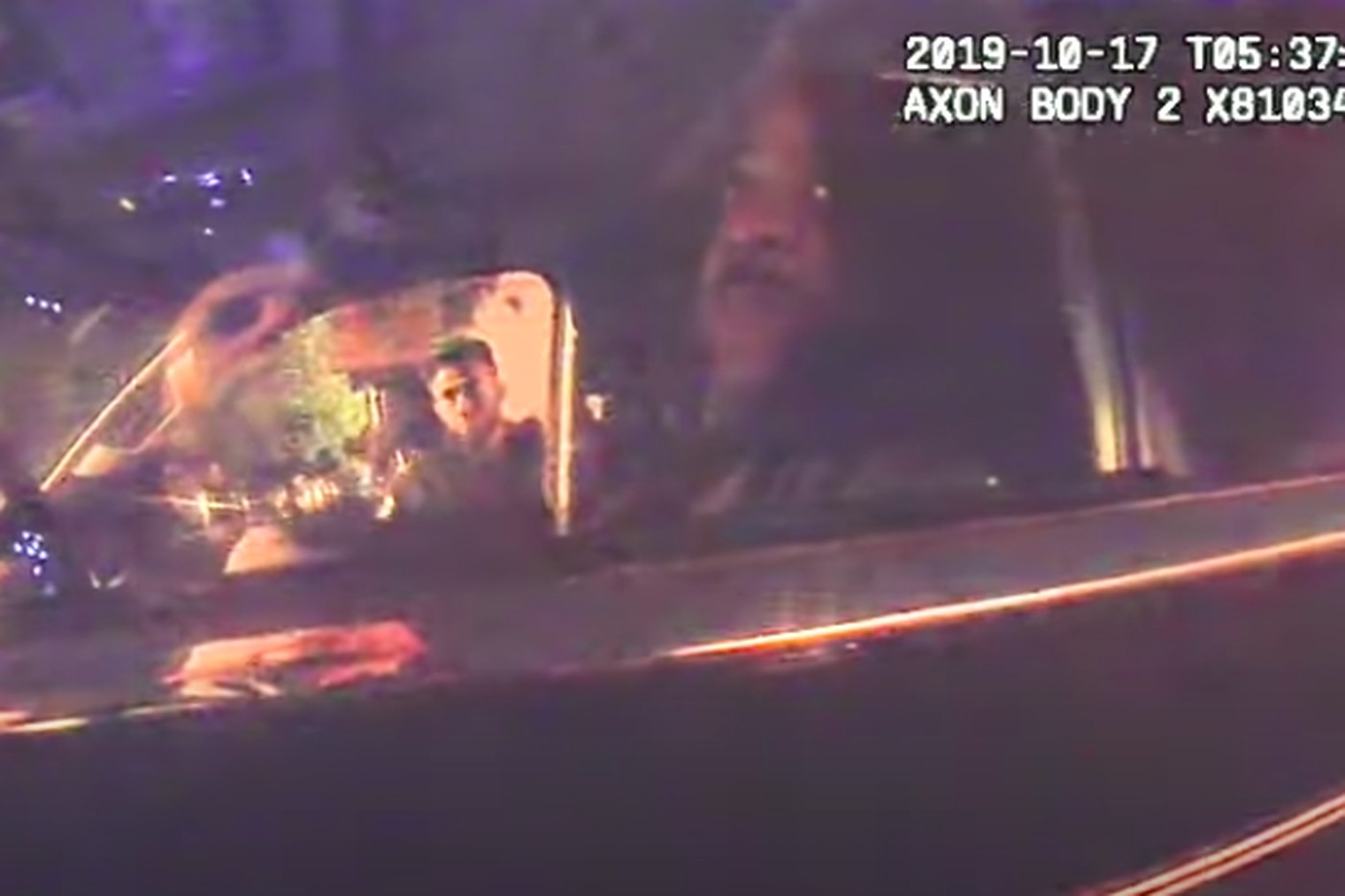 Bodycam video from Chicago police officers who approached former Supt. Eddie Johnson when he fell asleep behind the wheel.