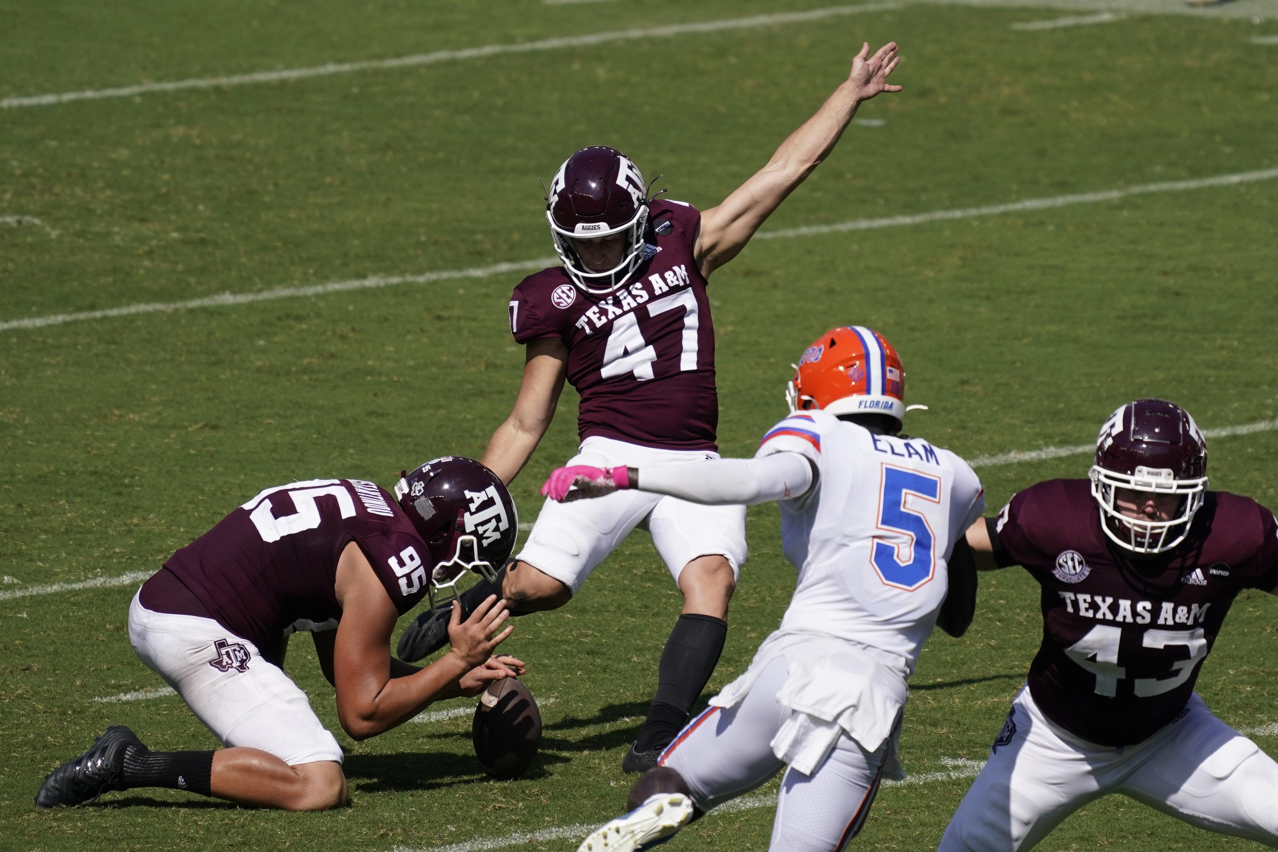 NCAA Football: Florida at Texas A&M