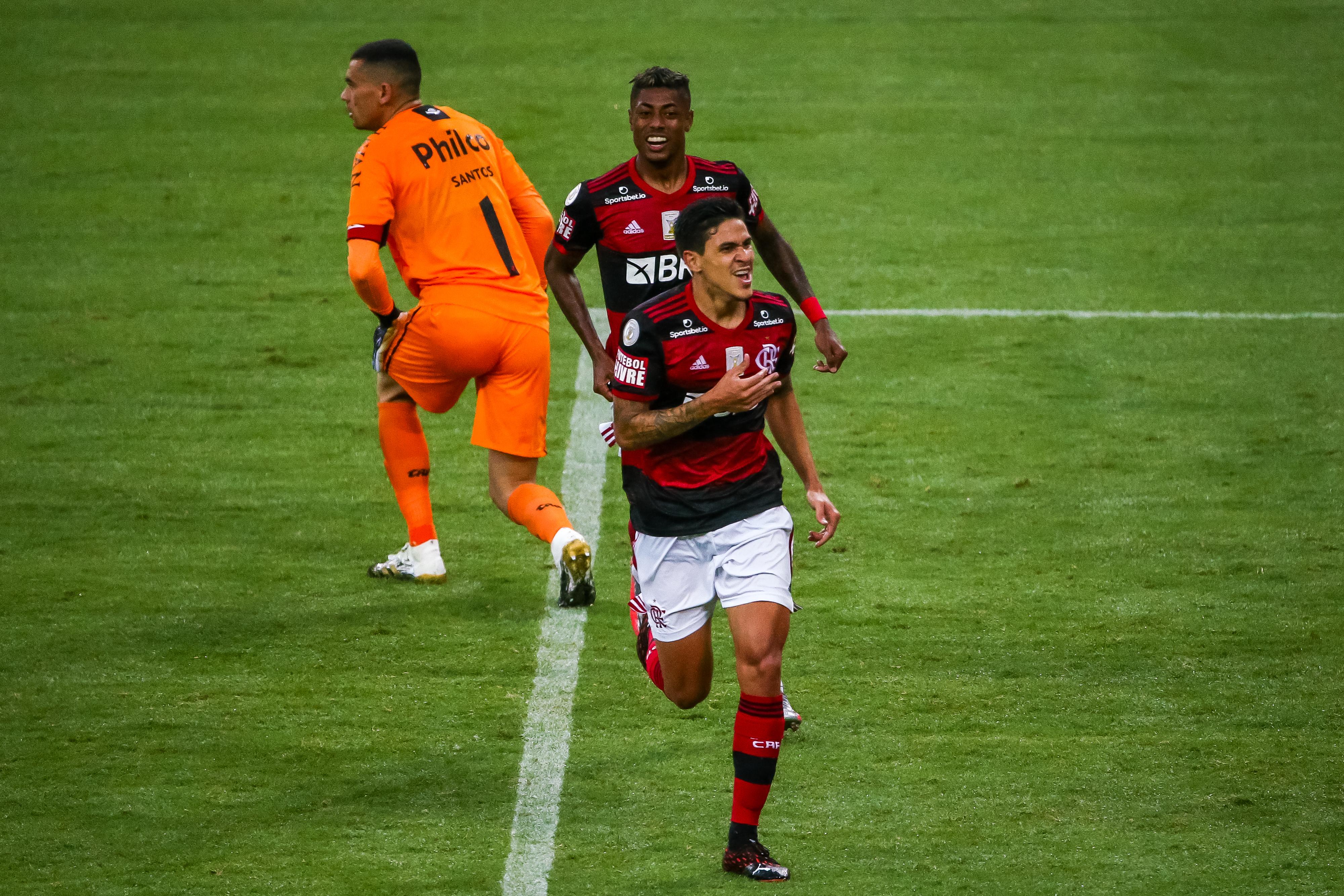 2020 Brasileirao Series A: Flamengo v Athletico PR Play Behind Closed Doors Amidst the Coronavirus (COVID - 19) Pandemic