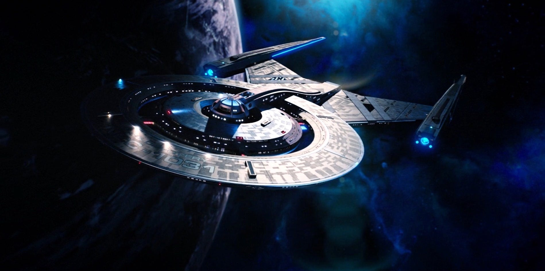 Star Trek Discovery ship's Discovery