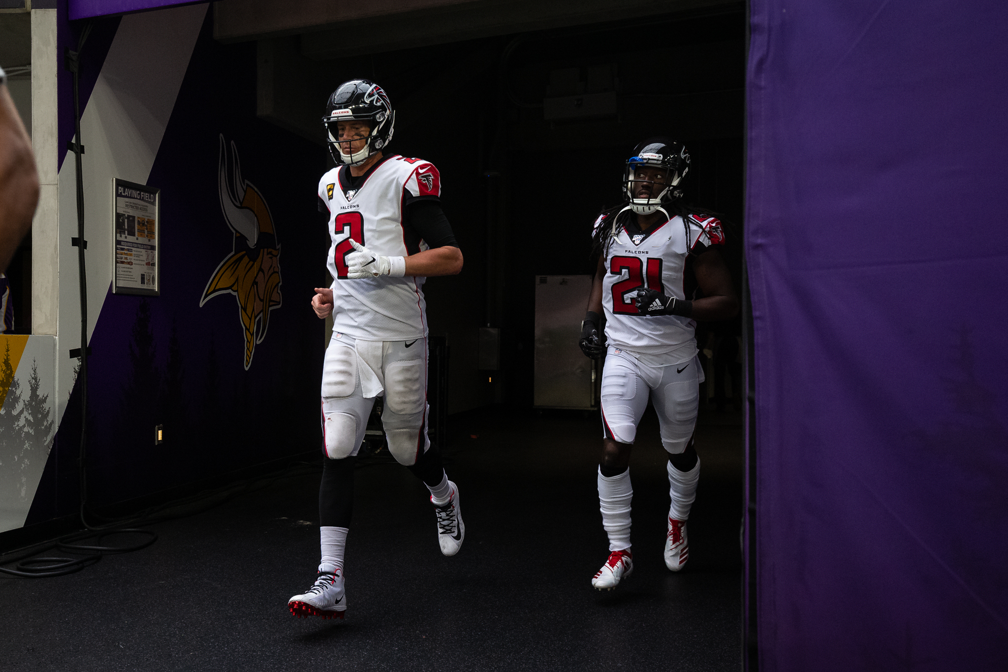NFL: Atlanta Falcons at Minnesota Vikings