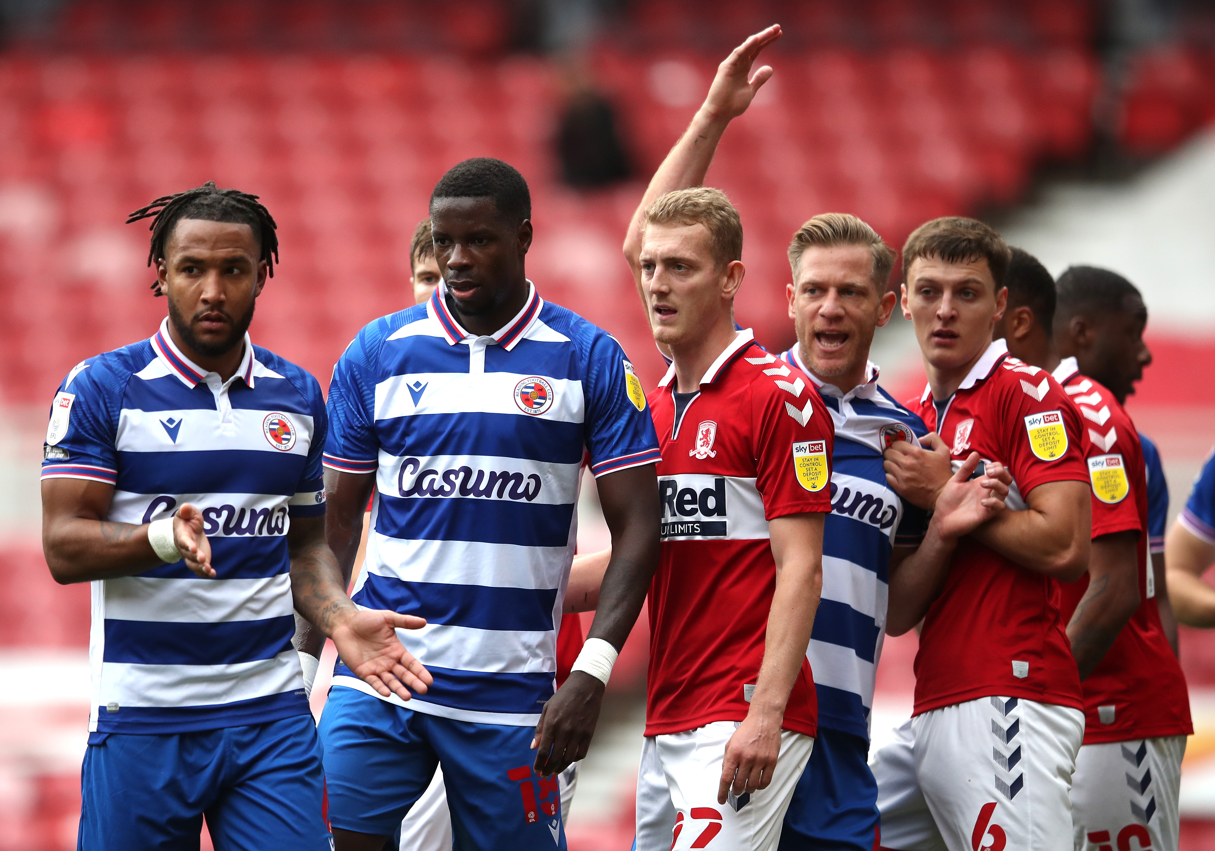 Middlesbrough v Reading - Sky Bet Championship