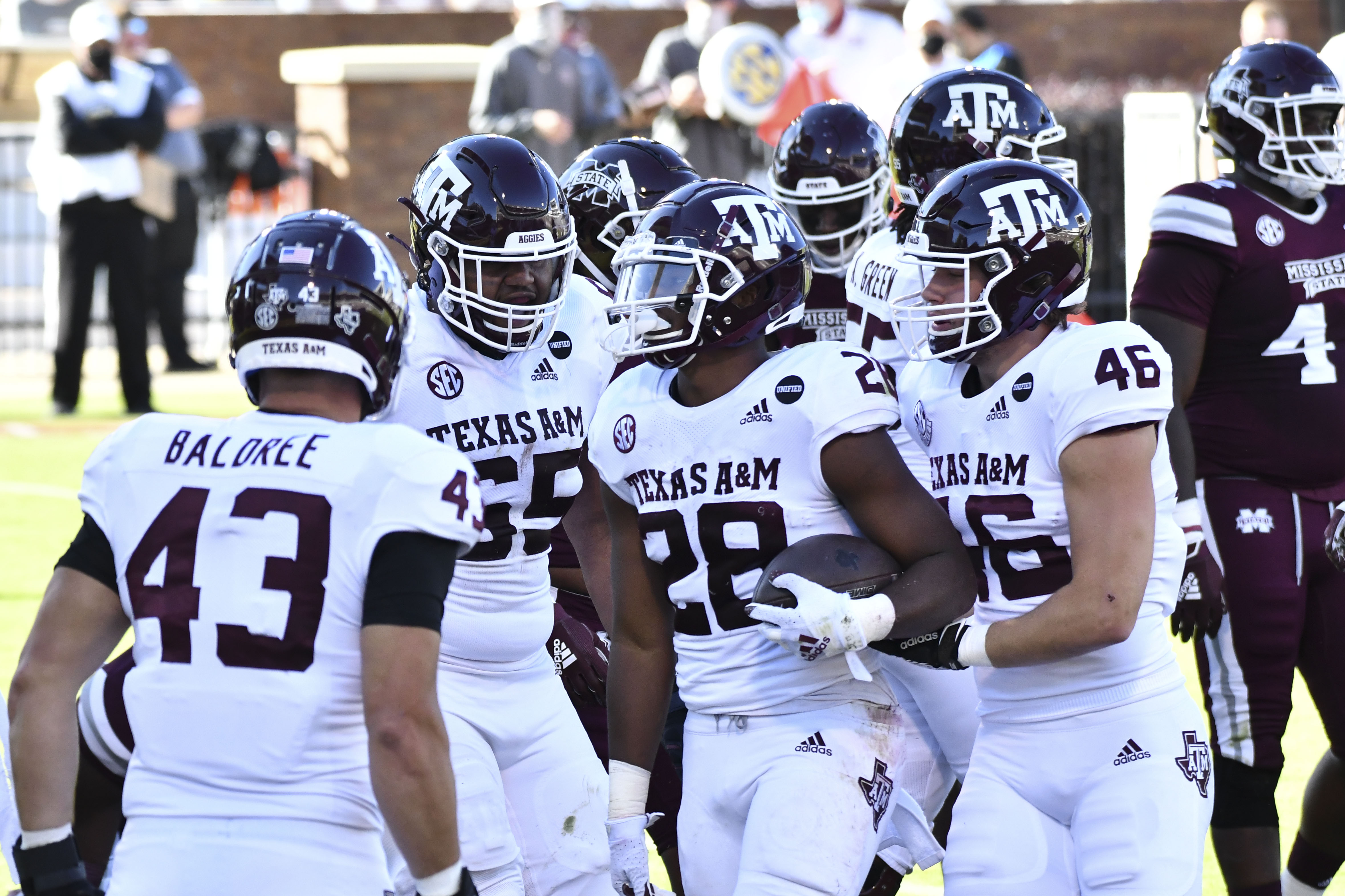 NCAA Football: Texas A&M at Mississippi State