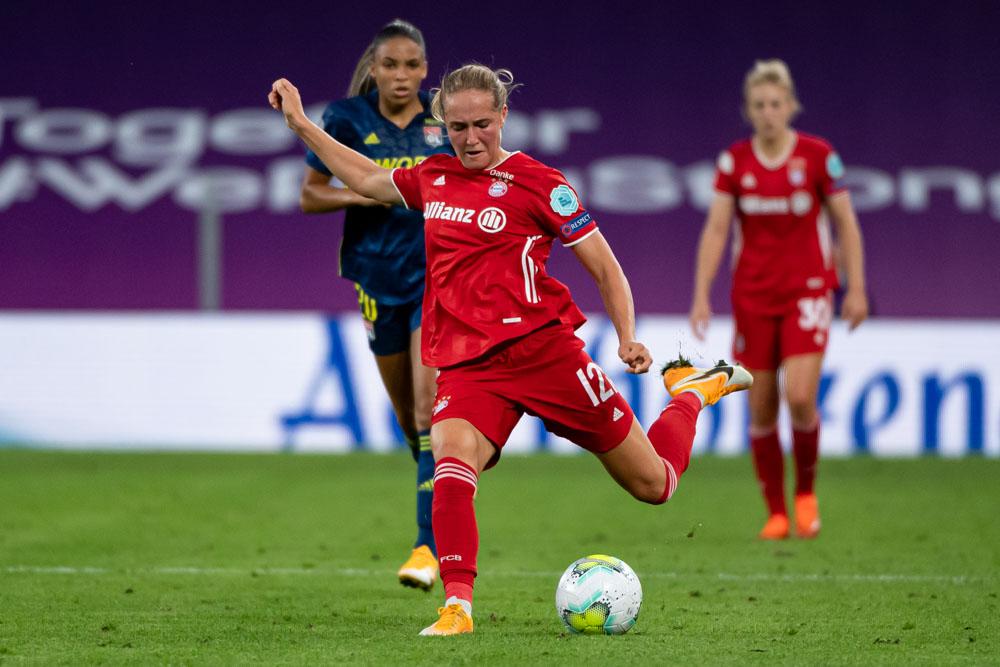 Olympique Lyon Women's v FC Bayern Muenchen Women's - UEFA Women's Champions League Quarter Final