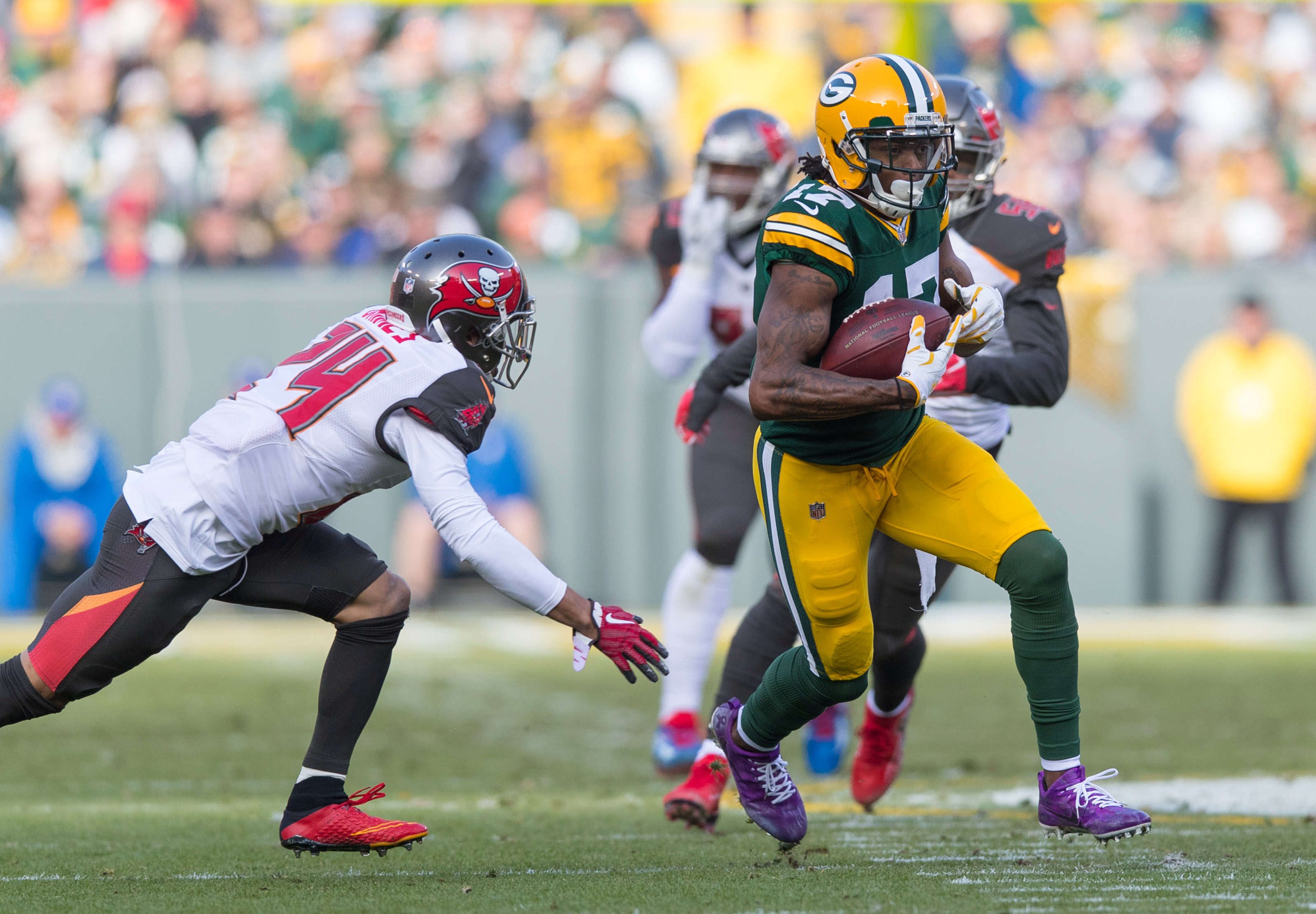 NFL: Tampa Bay Buccaneers at Green Bay Packers