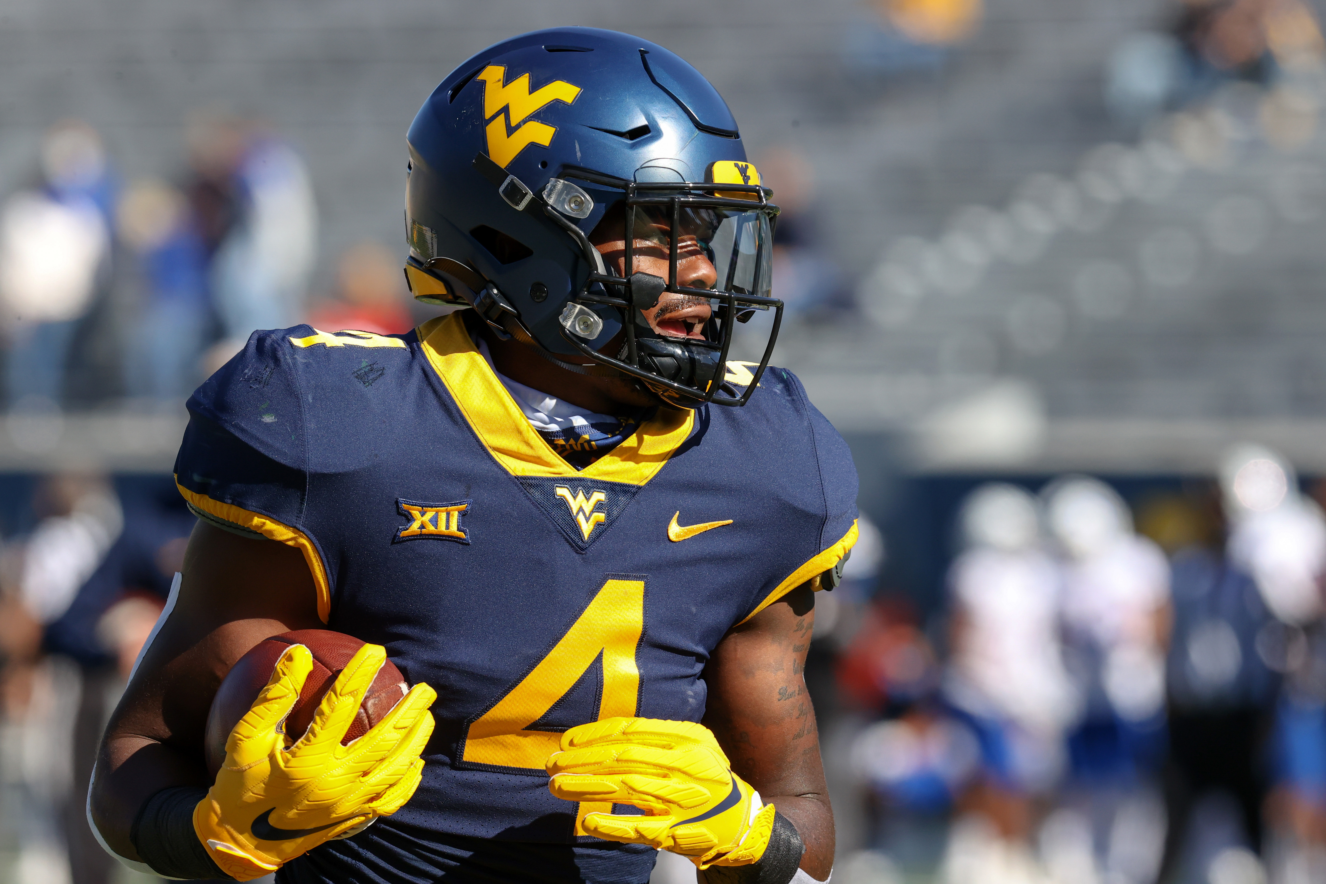 COLLEGE FOOTBALL: OCT 17 Kansas at West Virginia