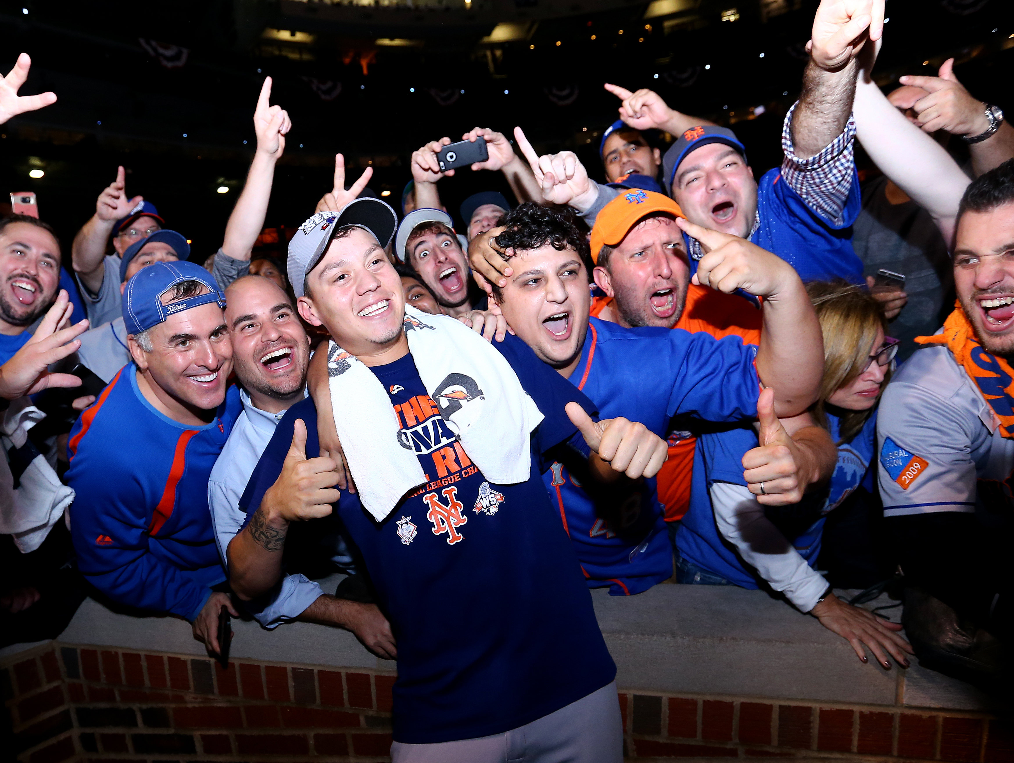 NL Championship Series: New York Mets v. Chicago Cubs - Game Four
