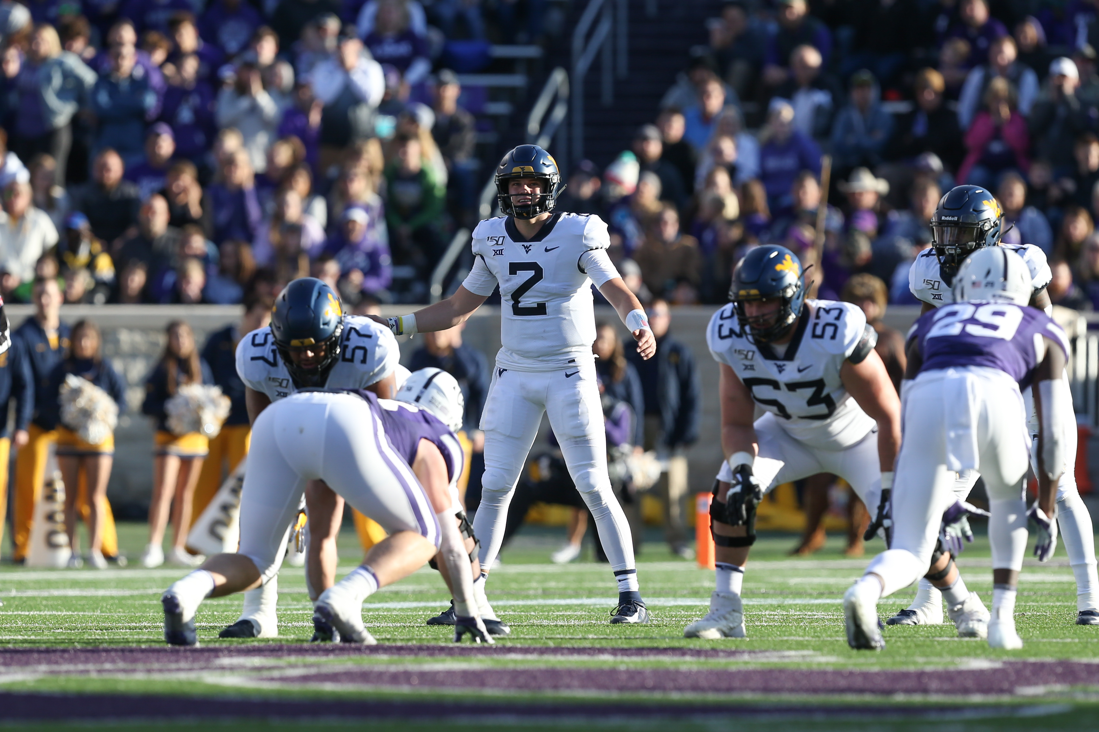COLLEGE FOOTBALL: NOV 16 West Virginia at Kansas State