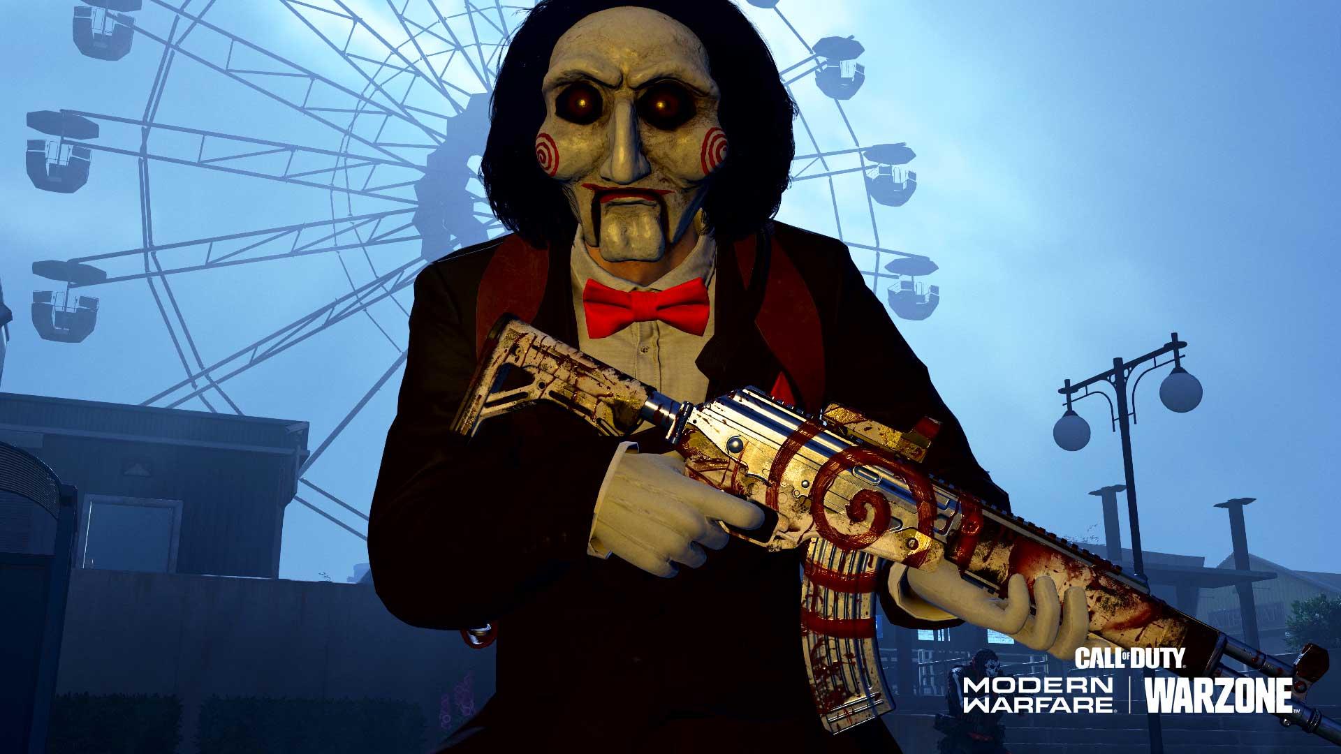 SAW puppet skin in Modern Warfare/Warzone
