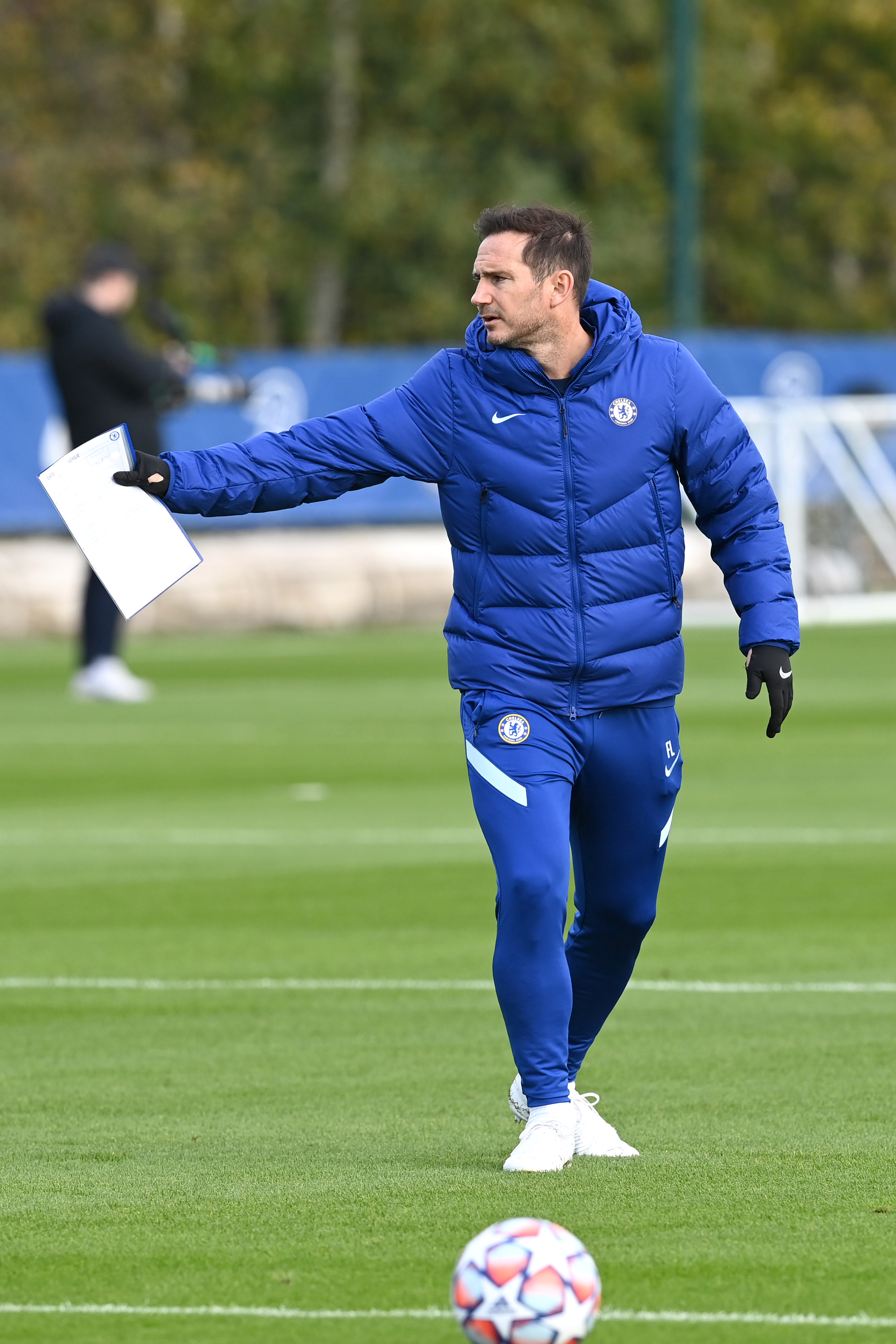 Chelsea Press Conference And Training Session