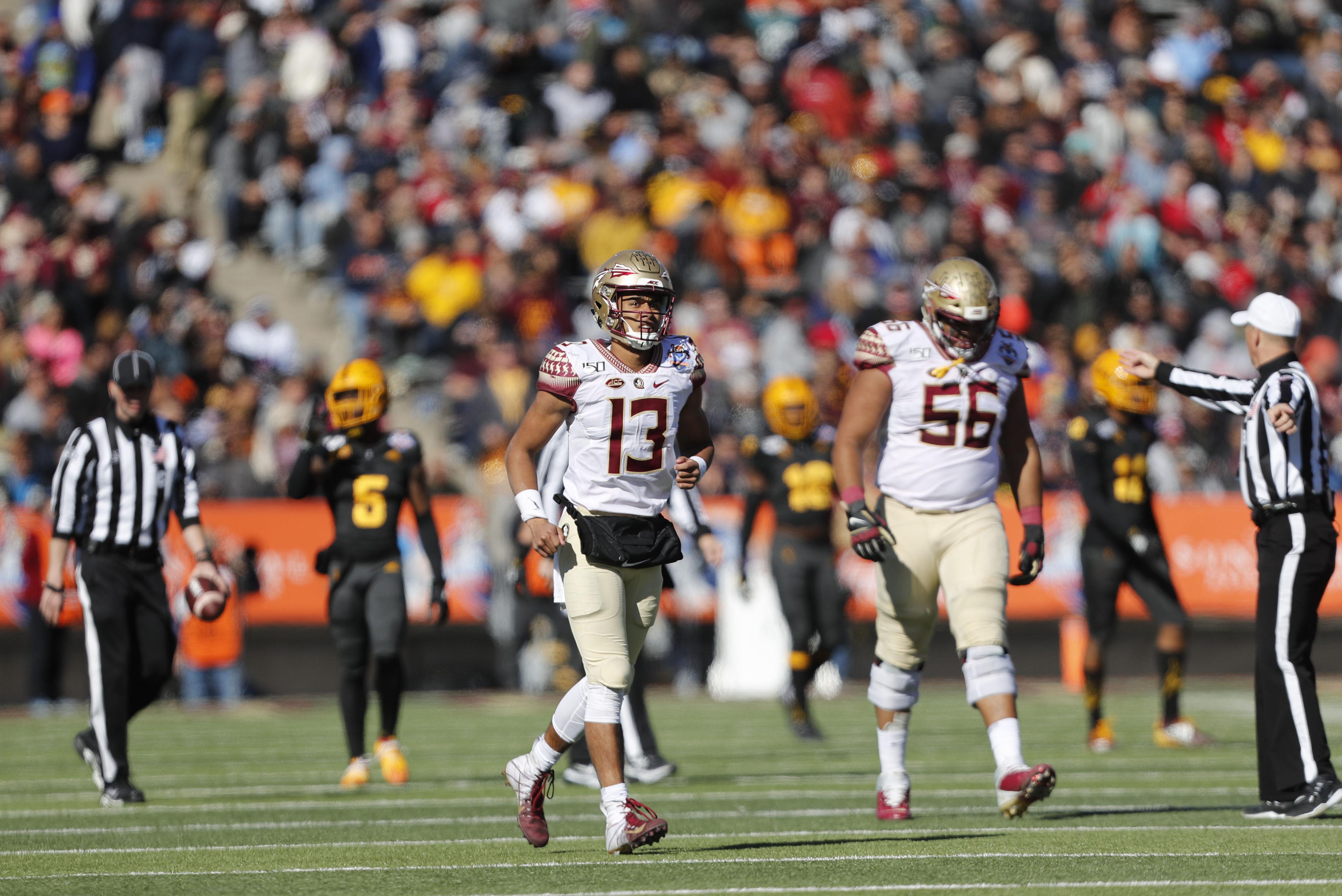 NCAA Football: Sun Bowl-Arizona State vs Florida State