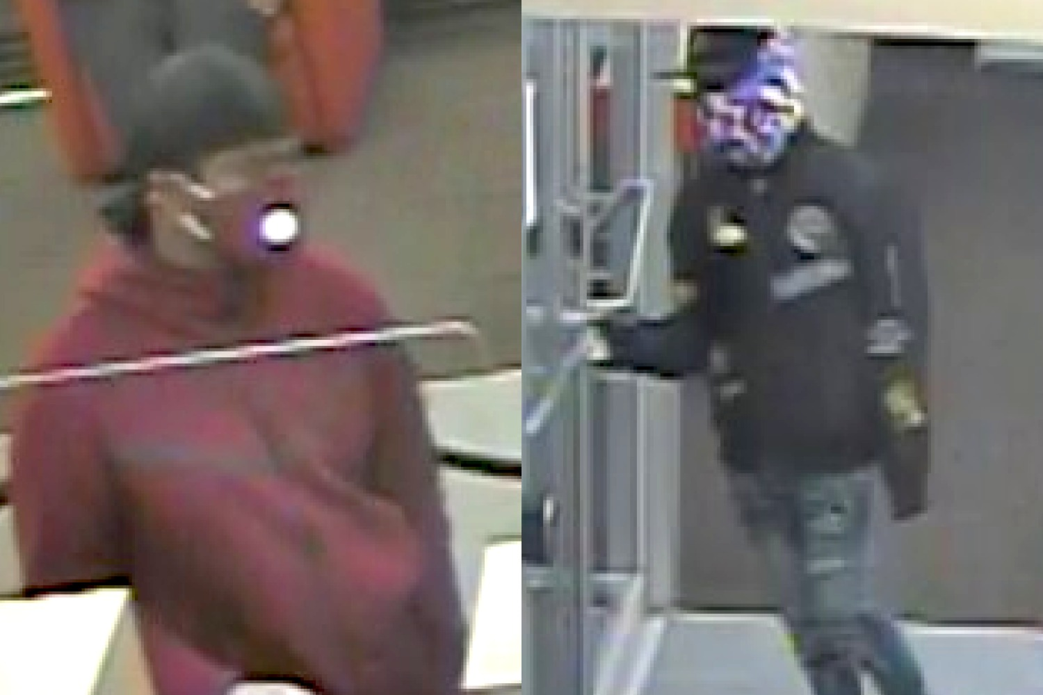 The FBI says these men are wanted for robbing a BMO Harris Bank branch Oct. 20, 2020, at 5960 W. Irving Park Rd.
