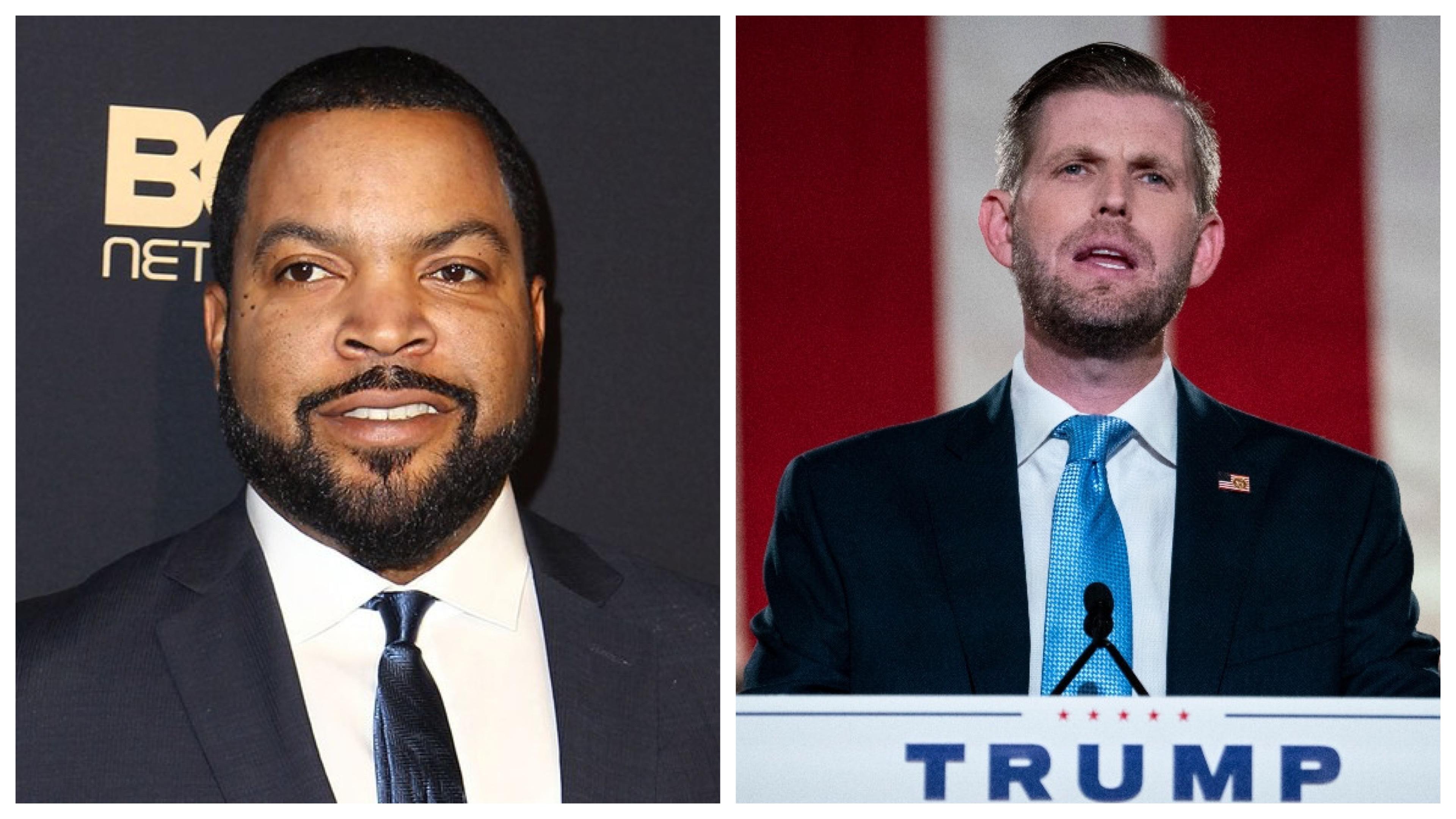 Ice Cube and Eric Trump