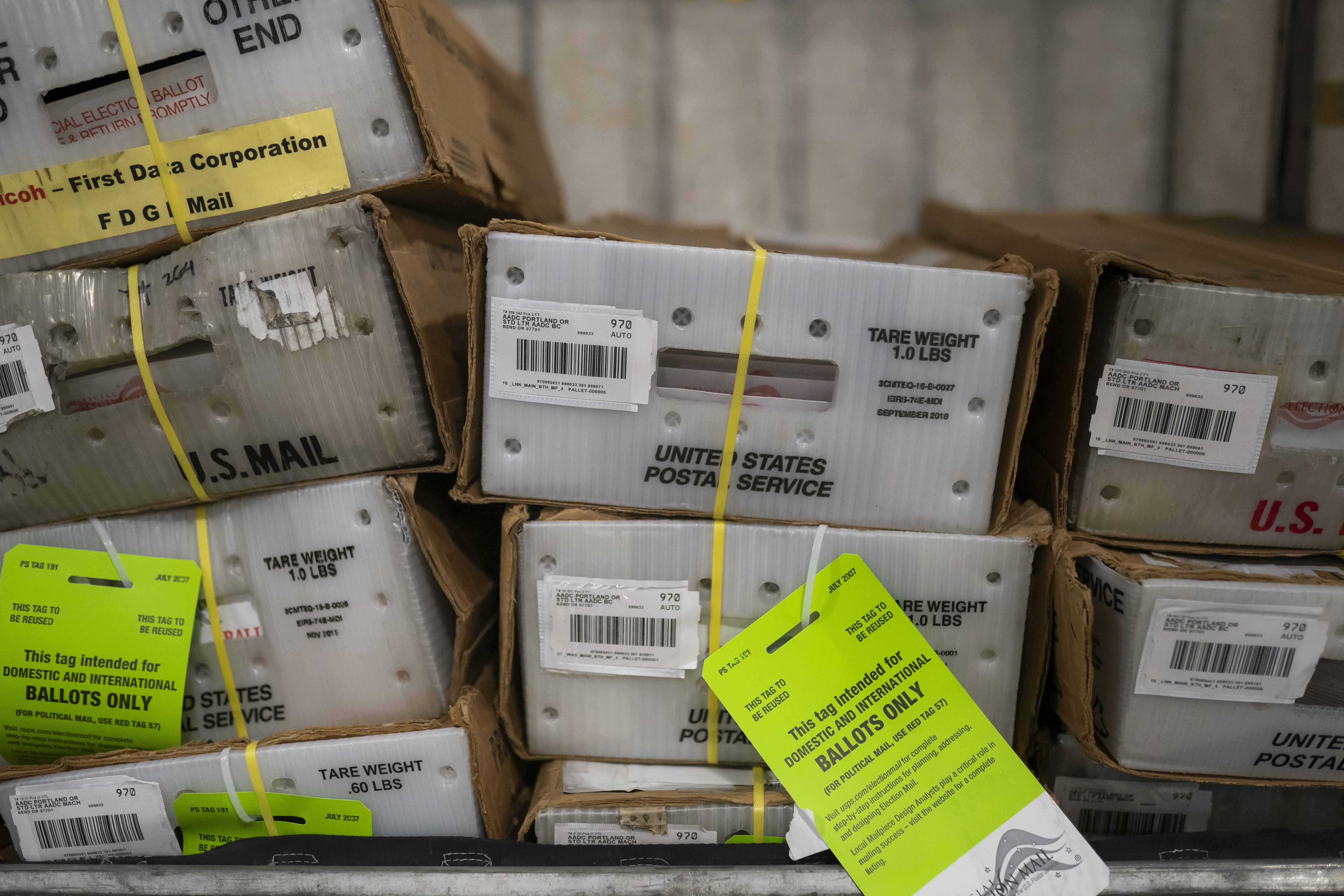 Postal Service Mails Ballots Out In Oregon