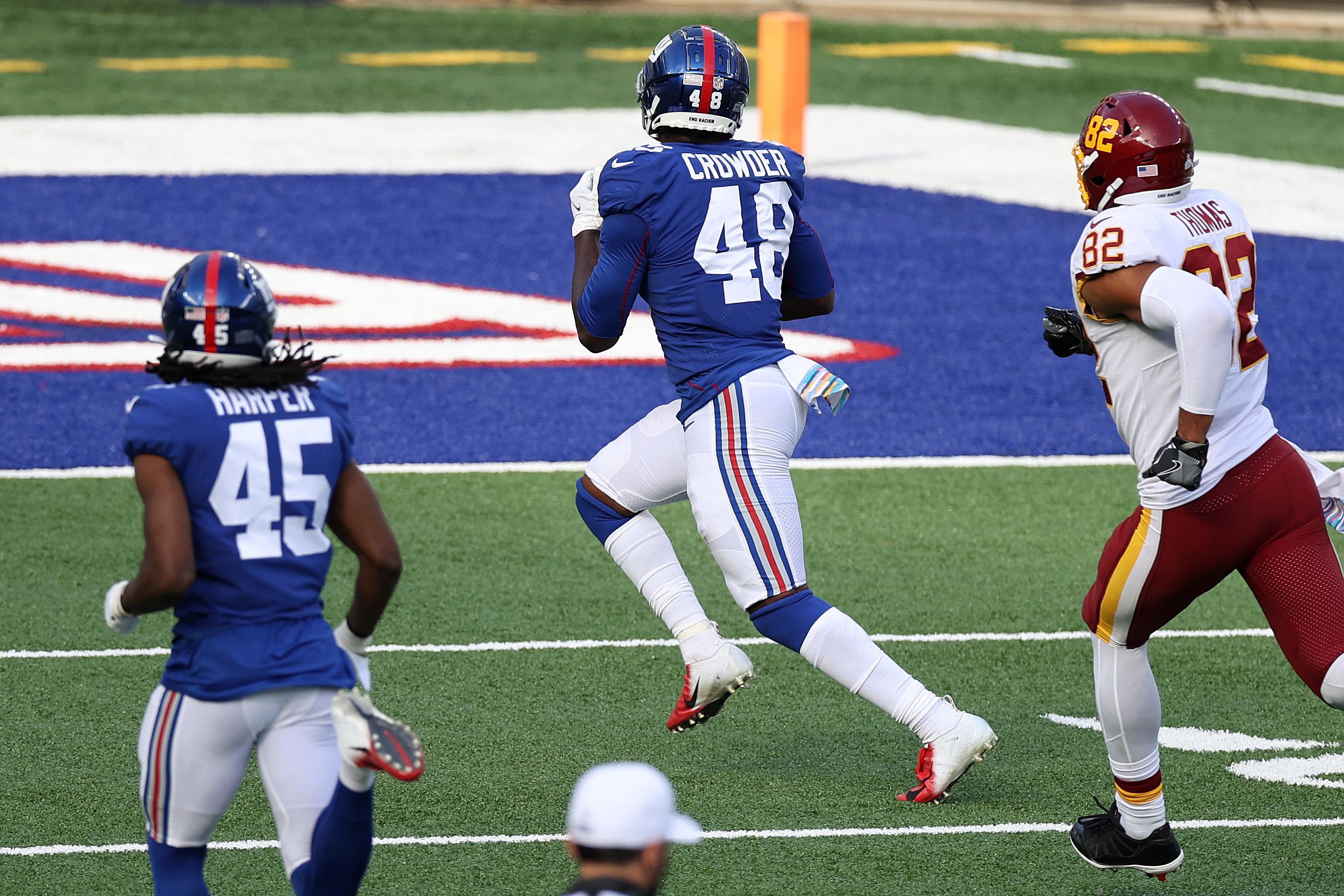 Washington Football Team v New York Giants