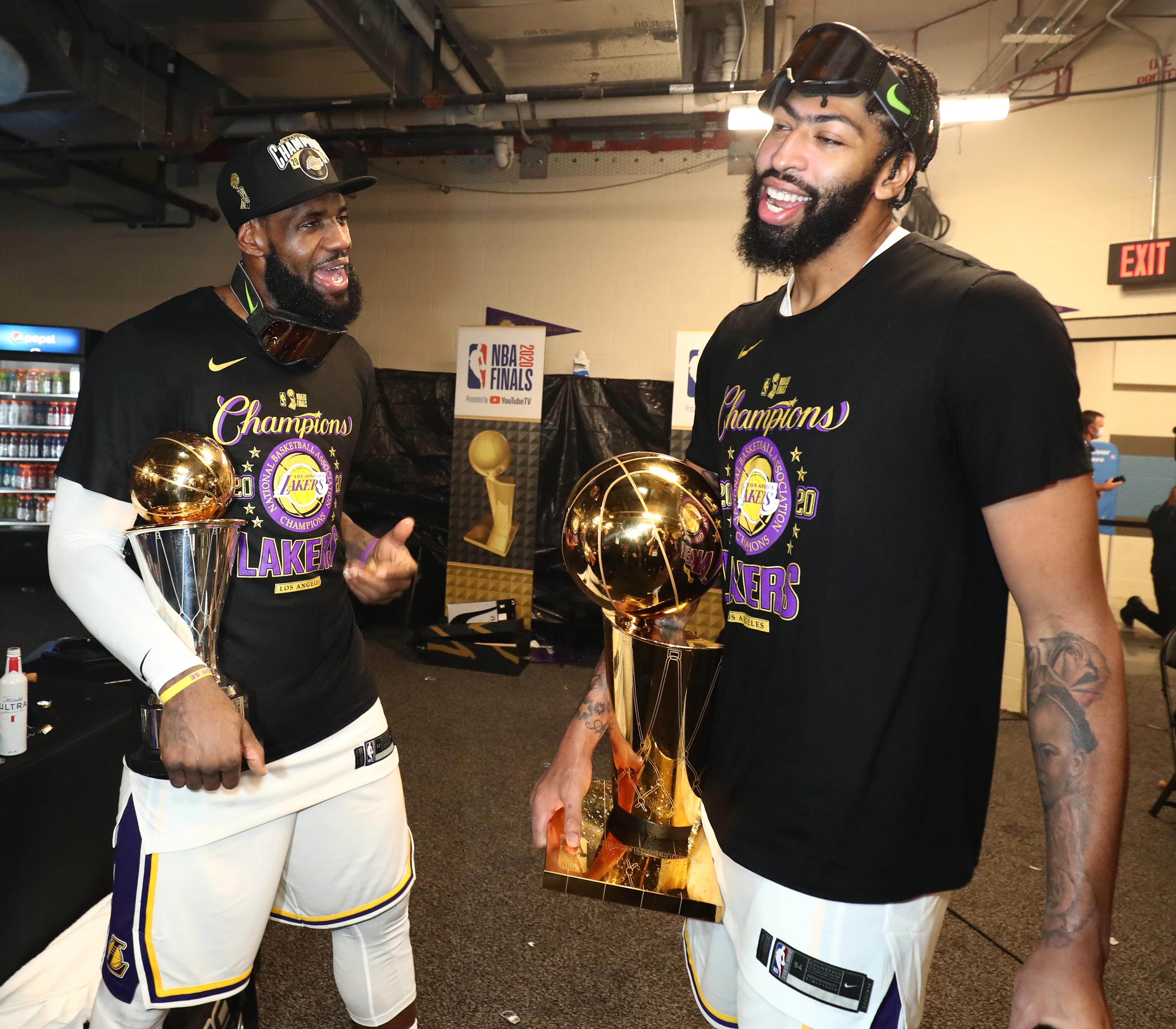 2020 NBA决赛 - 洛杉矶湖人队v迈阿密热量